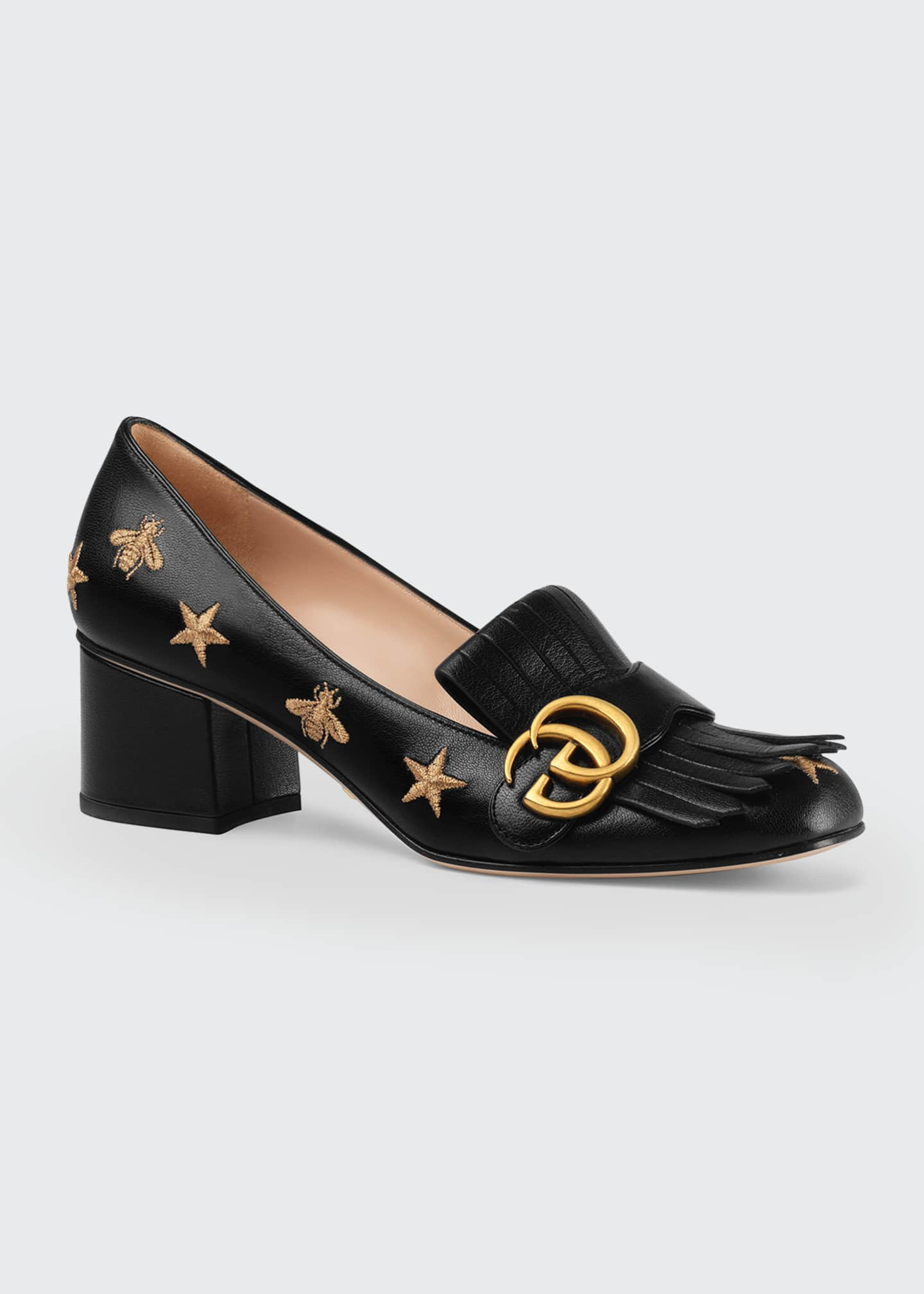 Image 2 of 4: Marmont Bee And Star Loafers