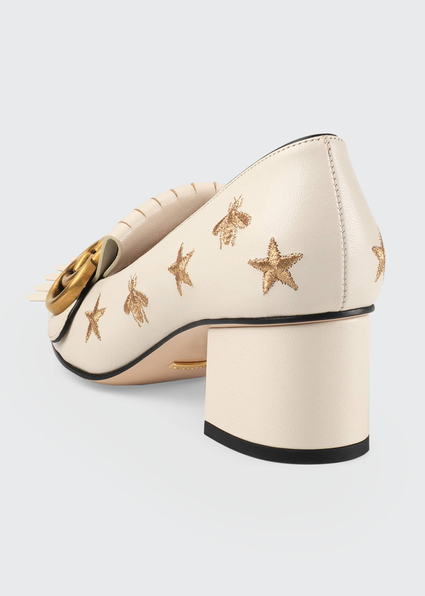 Image 3 of 4: Marmont Bee And Star Loafers