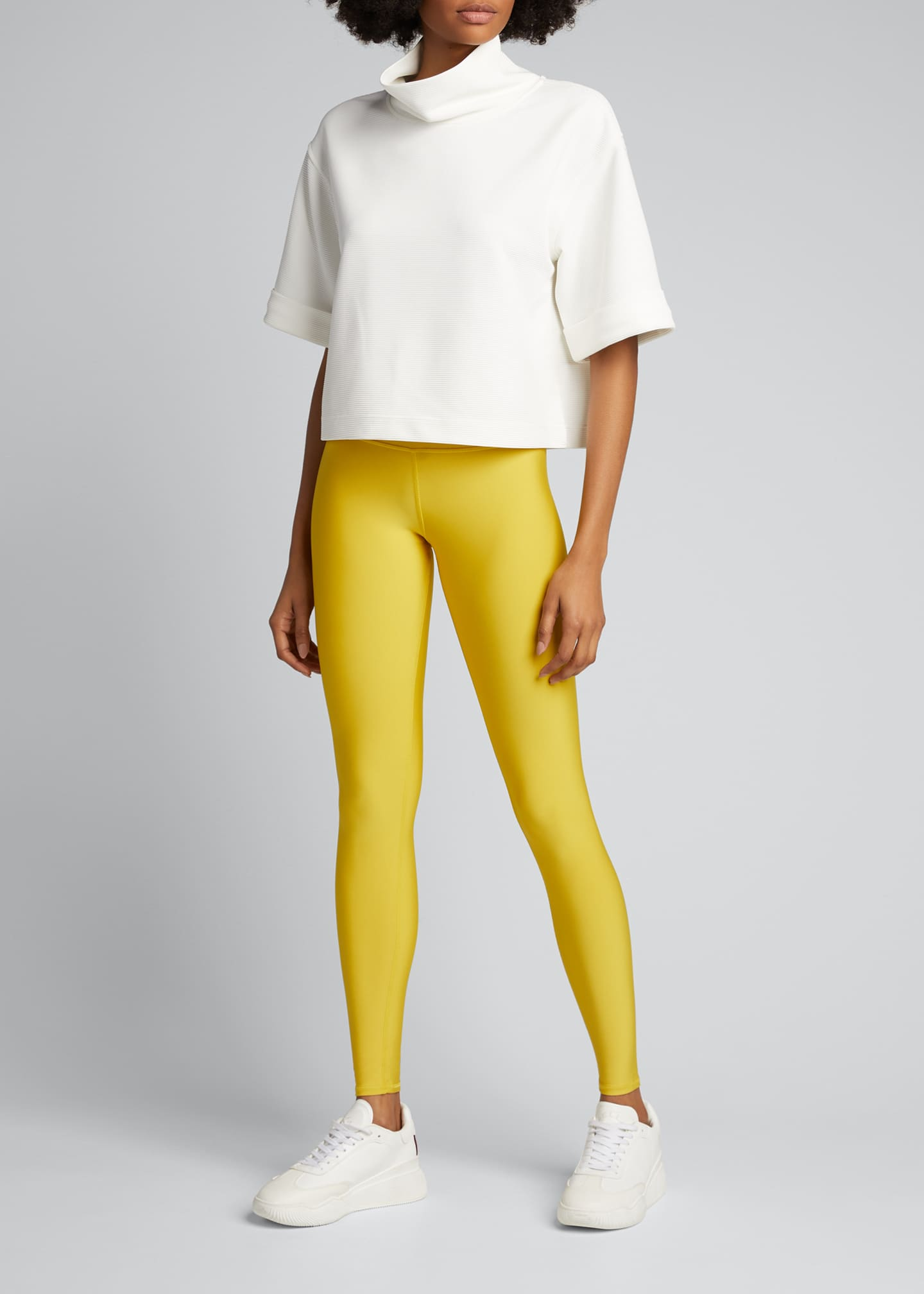 Image 1 of 5: High-Waist Tech-Lift Airbrush Full-Length Leggings