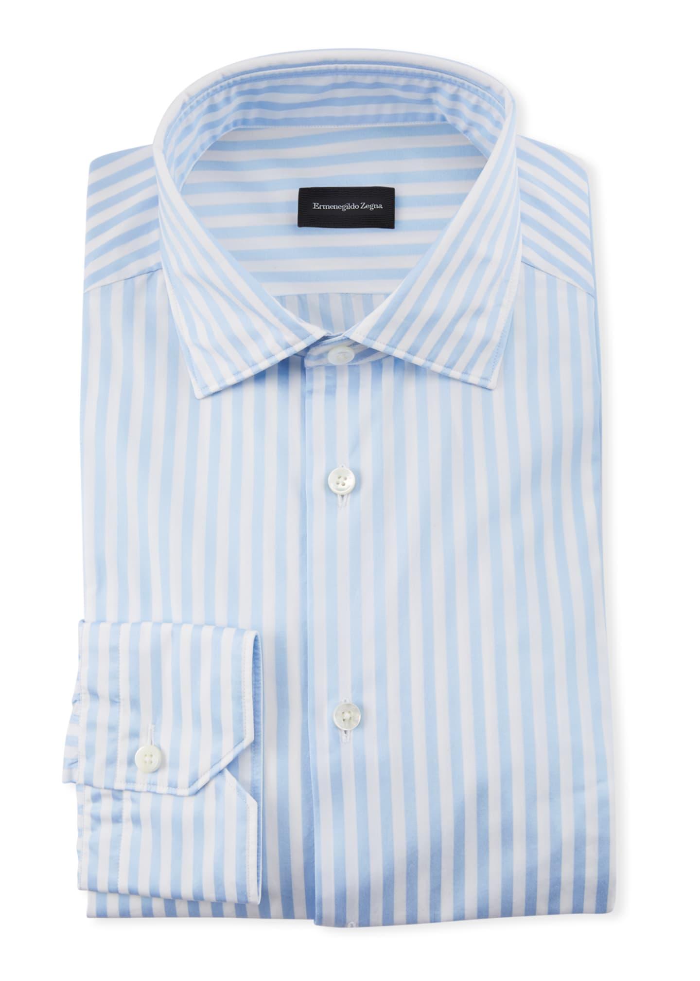 Ermenegildo Zegna Men's Bengal Dress Shirt