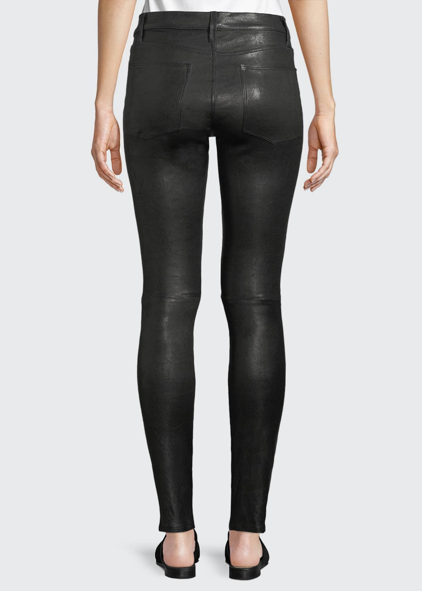Image 2 of 4: Le High Skinny Leather Pants