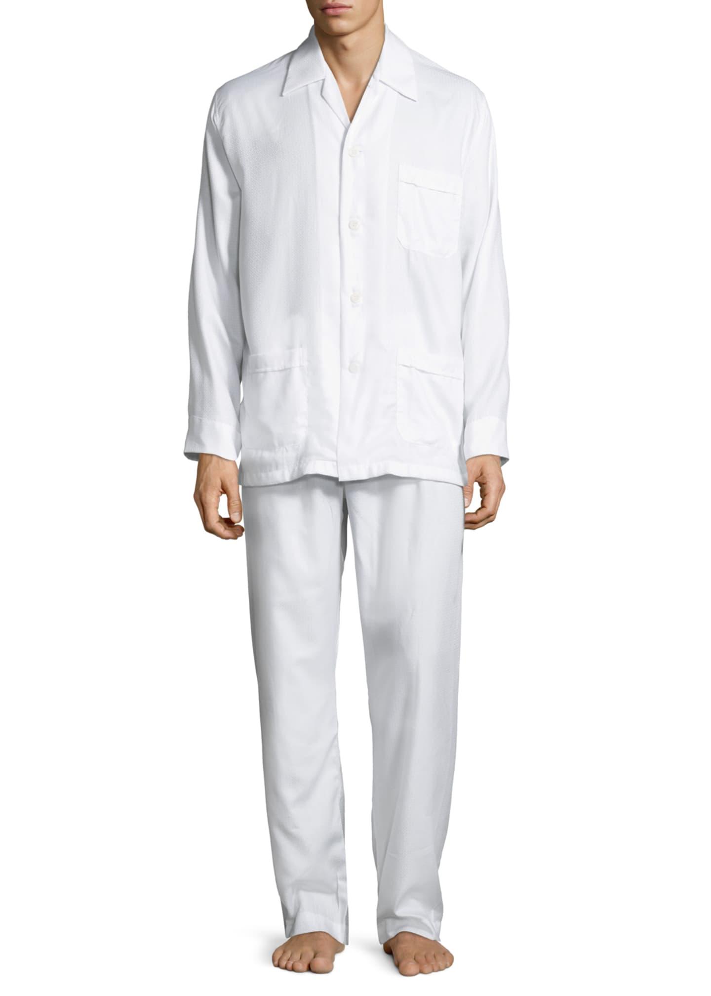 Derek Rose Men's Lombard 6 Cotton Pajamas