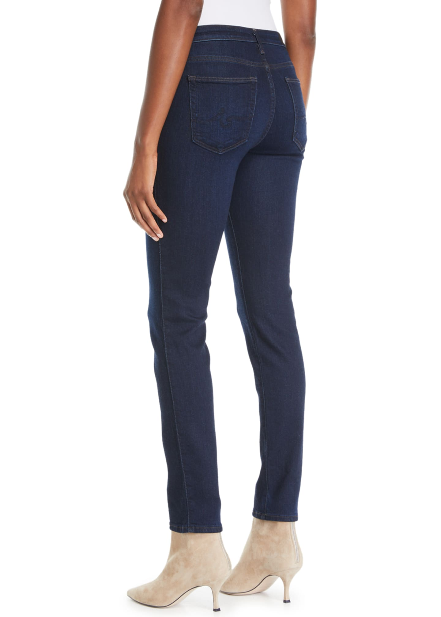 Image 2 of 3: Prima Mid-Rise Ankle Cigarette Jeans