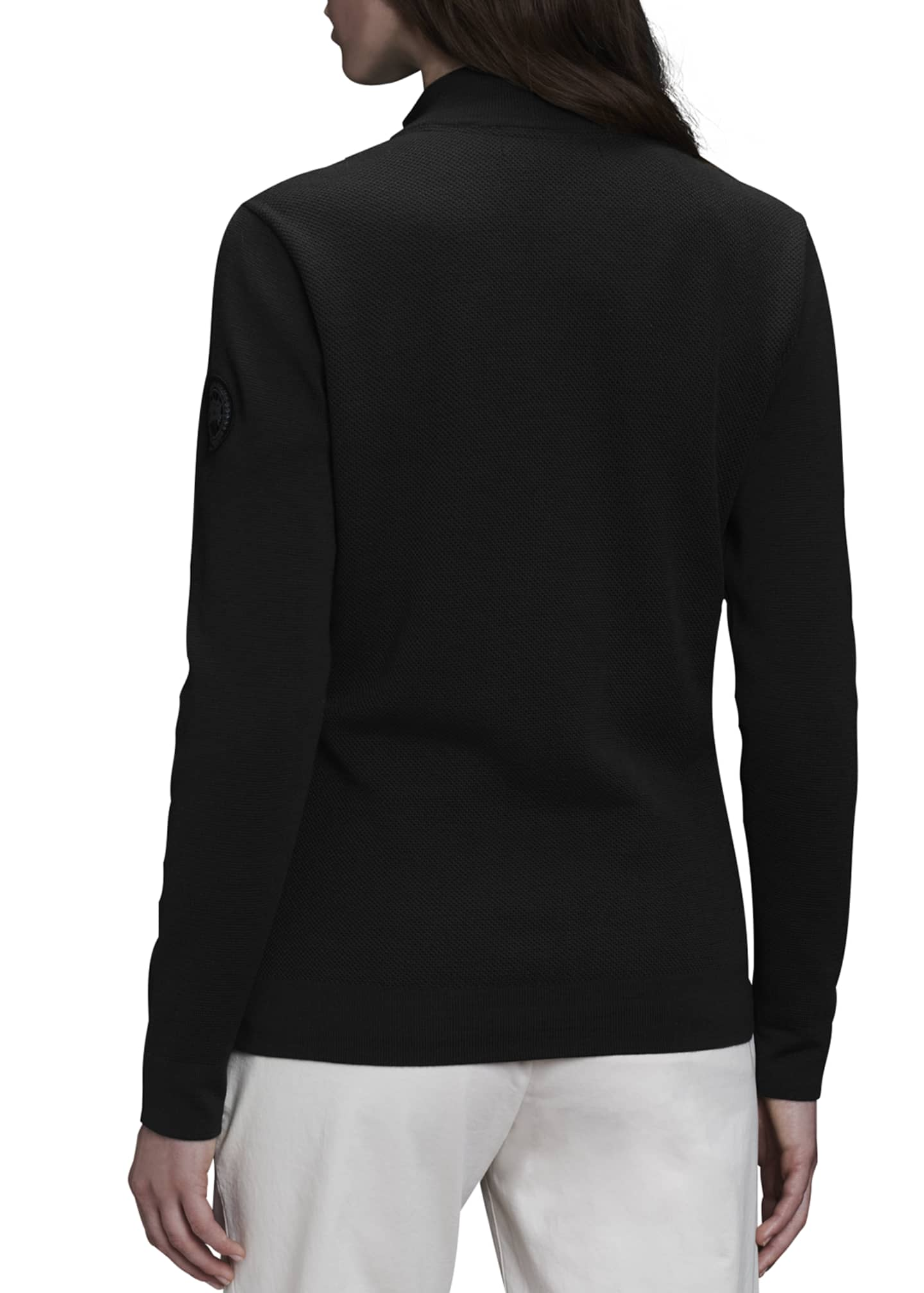 Image 2 of 4: WindBridge Full-Zip Sweater
