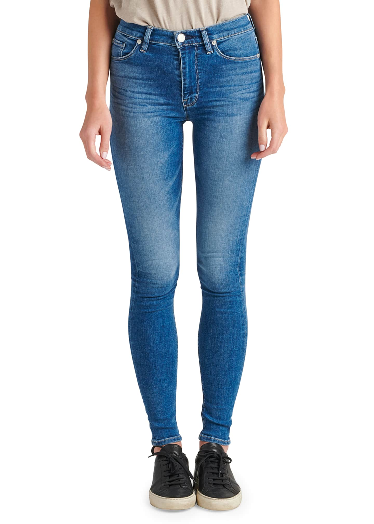 Hudson Barbara High-Waist Super Skinny Jeans