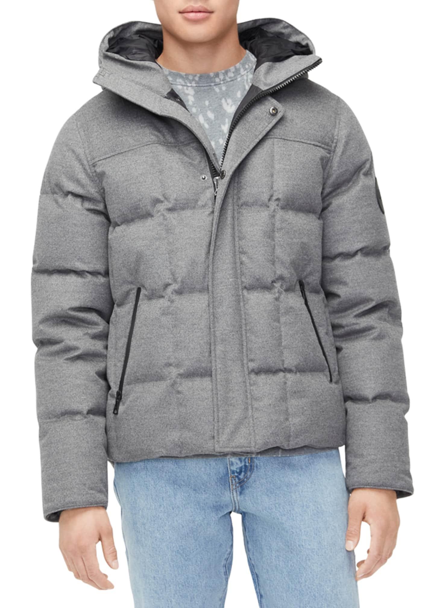 UGG Men's Cadin Hip-Length Puffer Parka Coat