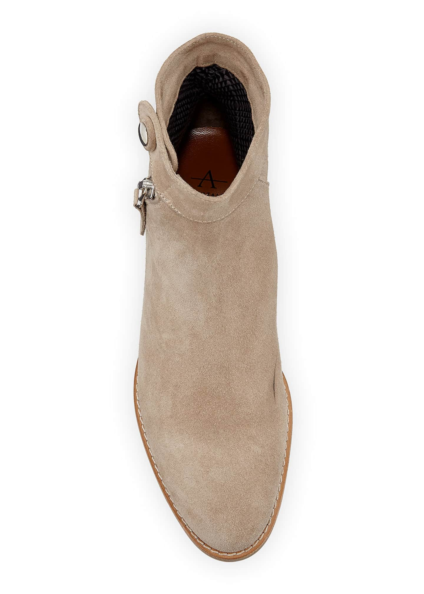 Image 3 of 4: Rose 20mm Weatherproof Suede Booties
