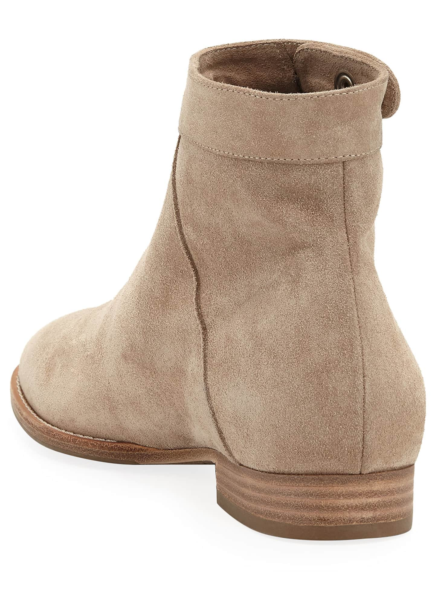 Image 4 of 4: Rose 20mm Weatherproof Suede Booties