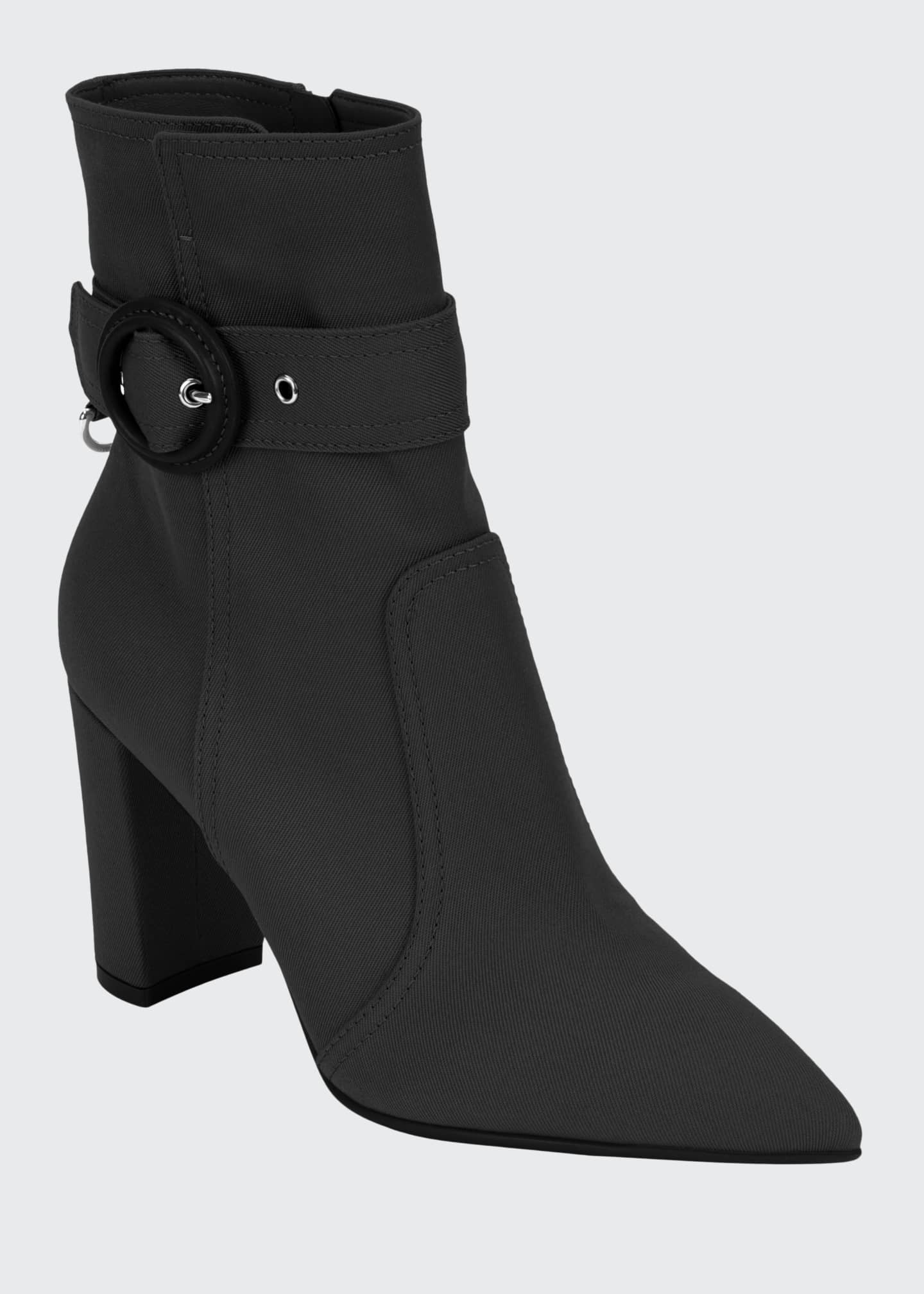 Gianvito Rossi Waterproof Fabric 85mm Booties