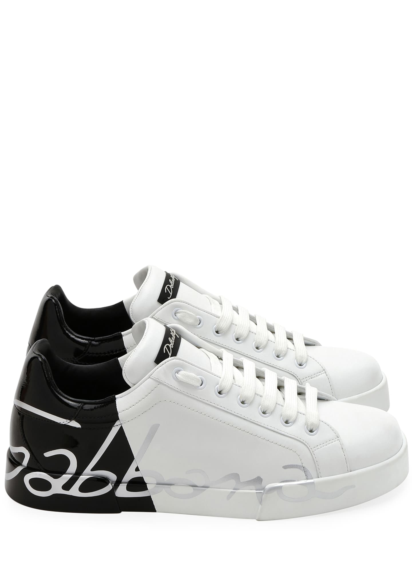 Image 2 of 4: Men's Signature Portofino Logo Sneakers