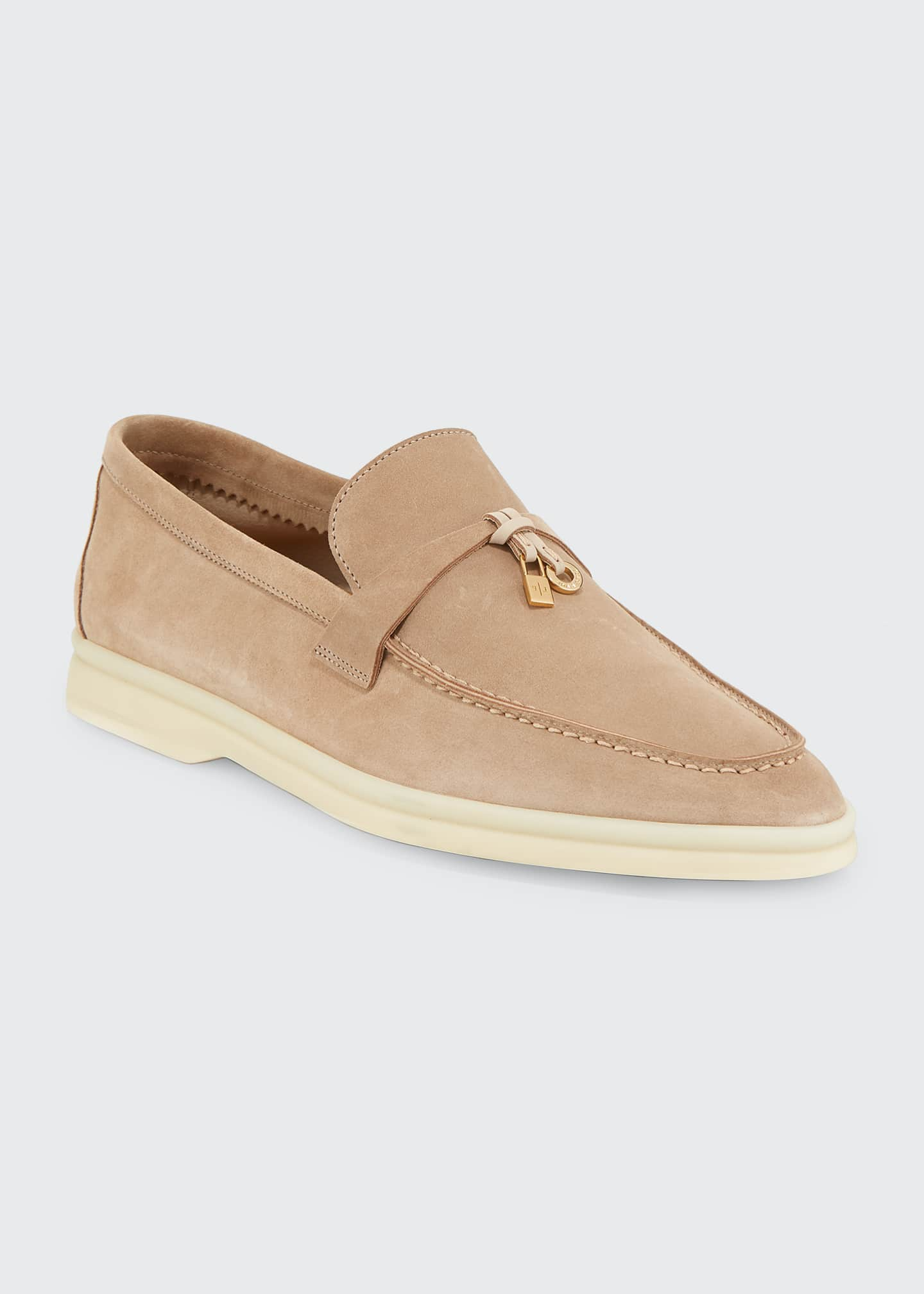 Image 1 of 5: Summer Charms Walk Suede Loafers