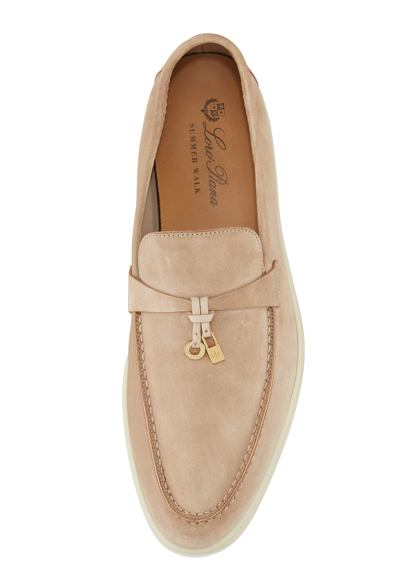Image 3 of 5: Summer Charms Walk Suede Loafers