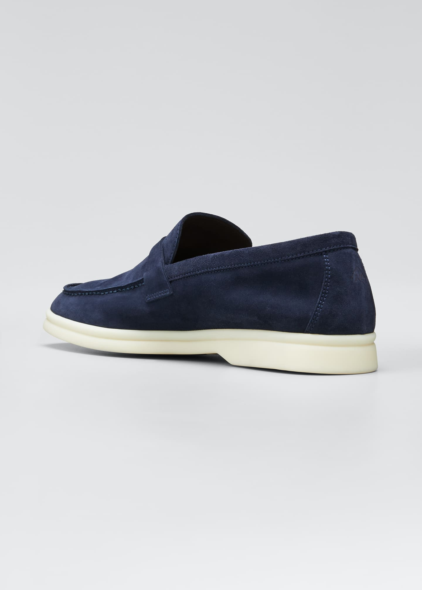 Image 4 of 5: Summer Charms Walk Suede Loafers