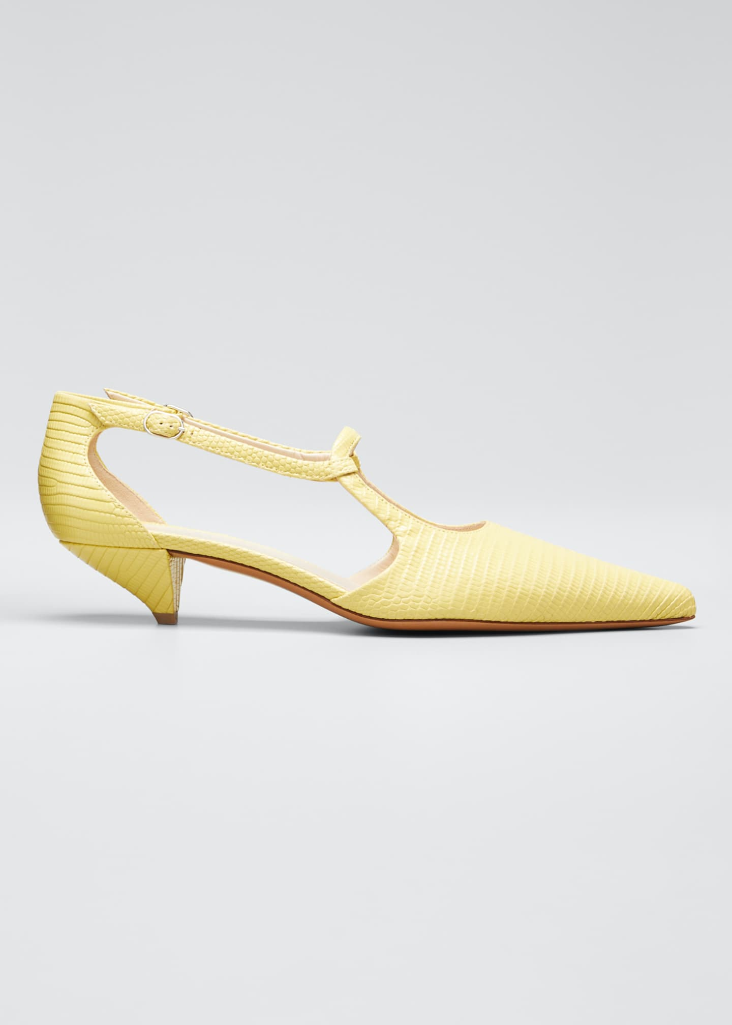 Image 1 of 5: Bourgeoisie Salome Lizard Pumps