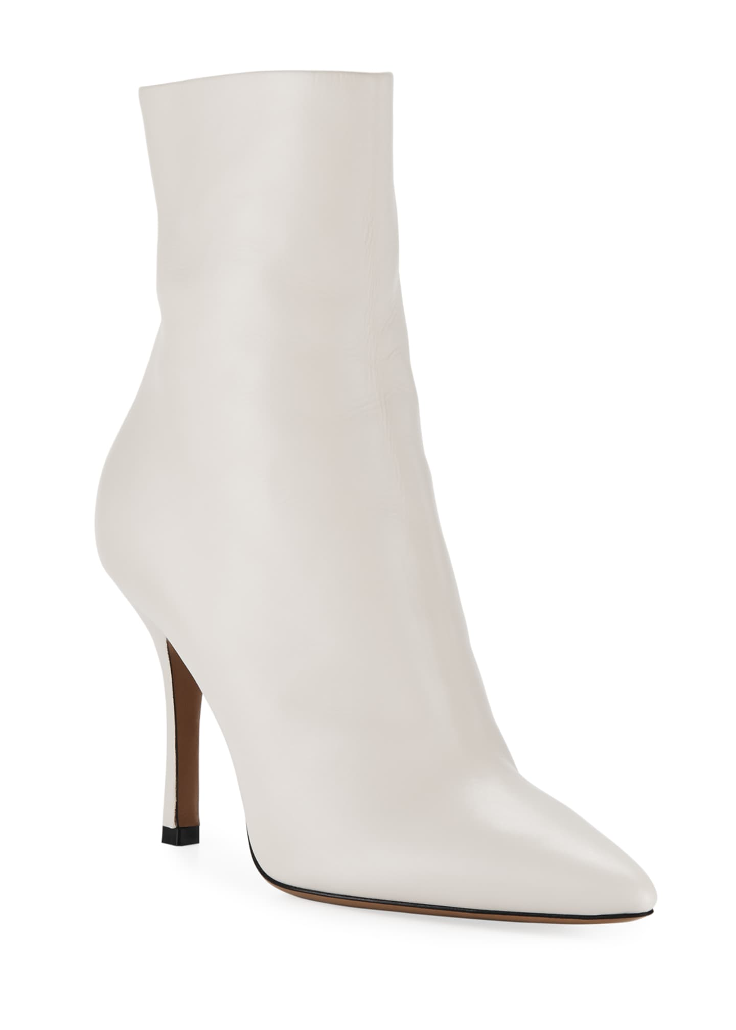 THE ROW Gloria Leather 95mm Booties