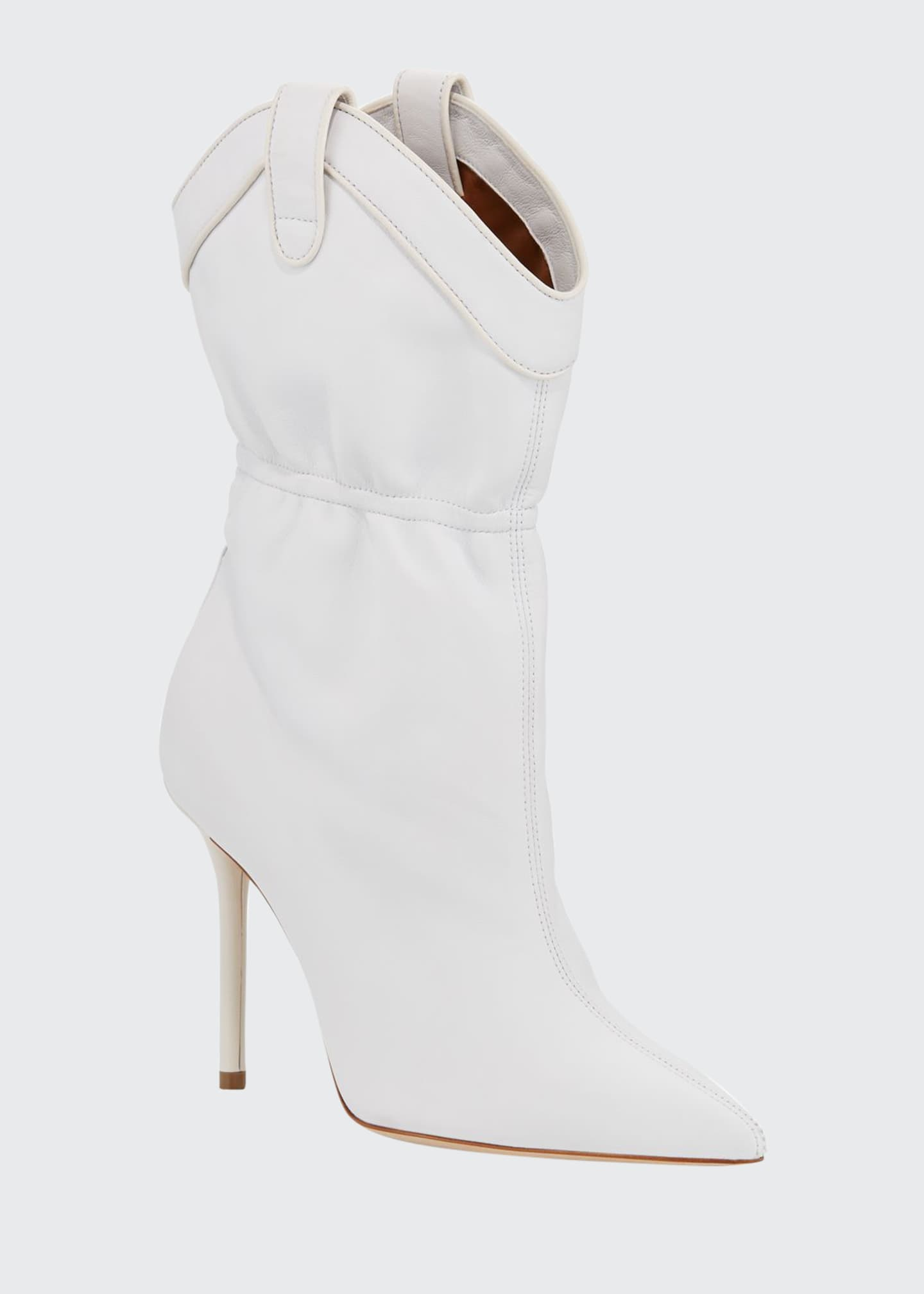 Malone Souliers Daisy Luwolt Short Western Boots