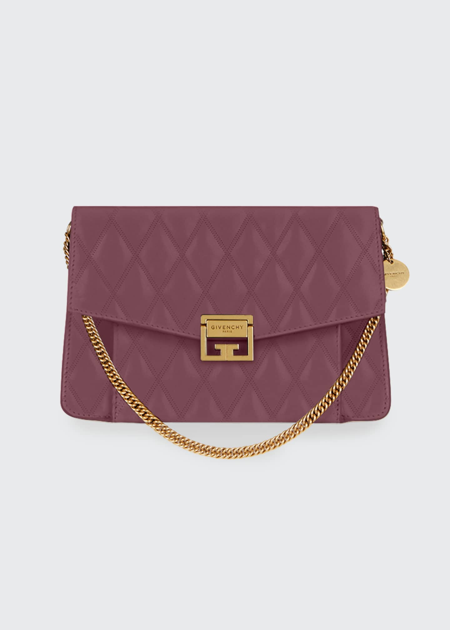Image 1 of 1: GV3 Medium Losange Quilted Leather Shoulder Bag