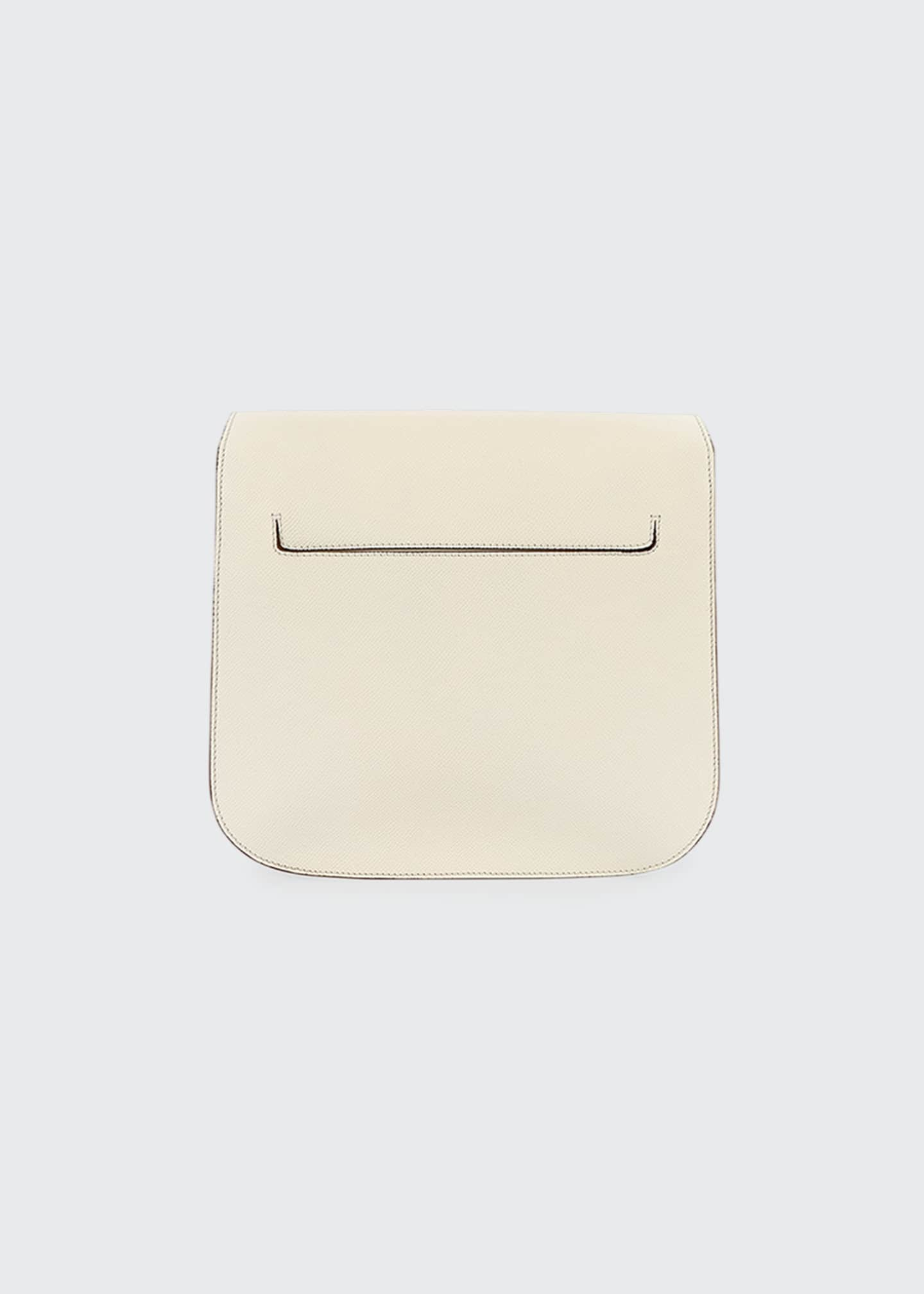 Image 2 of 3: Small Tara Grain Calf Shoulder Bag