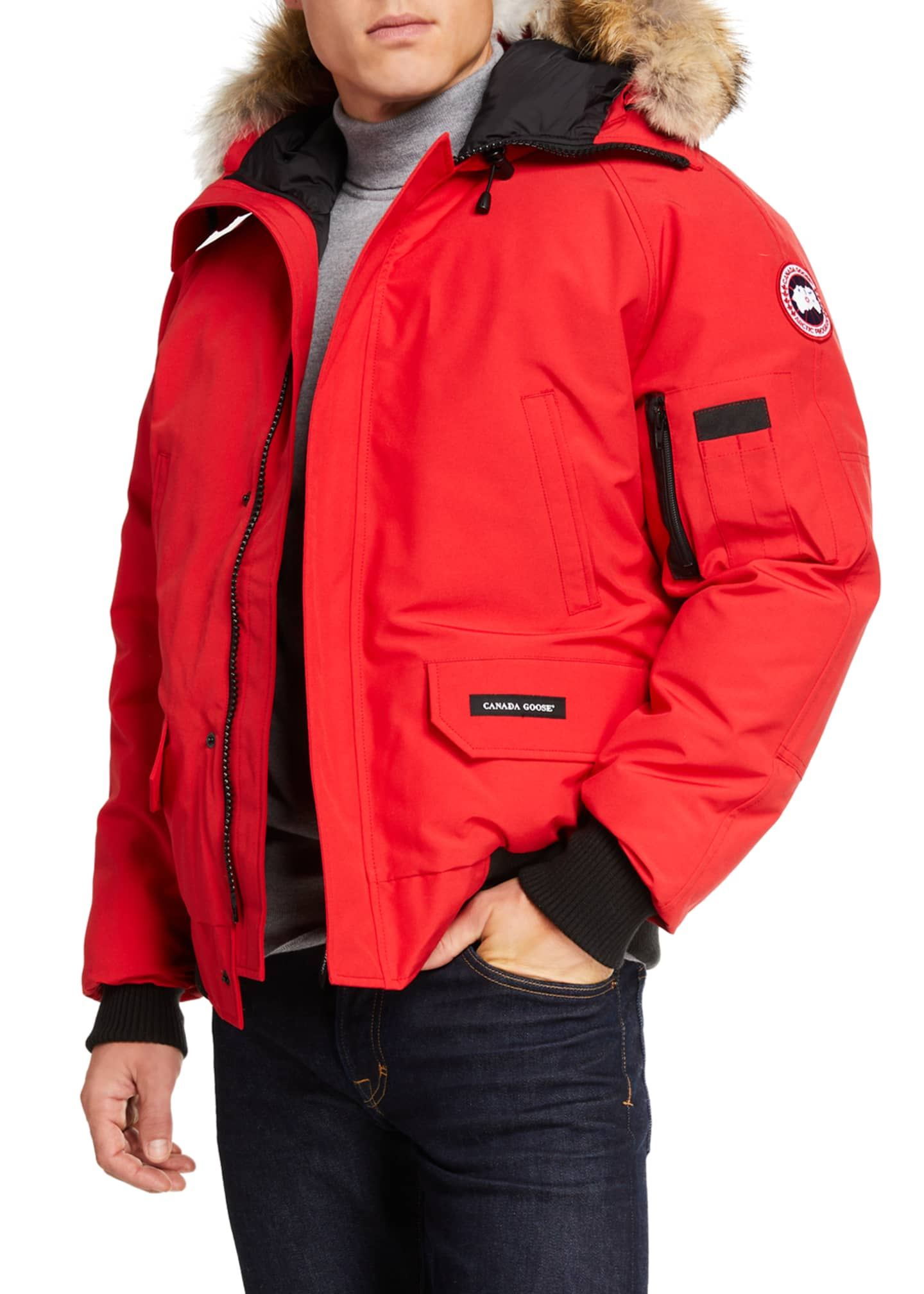 Canada Goose Men's Chilliwack Down Bomber Jacket w/