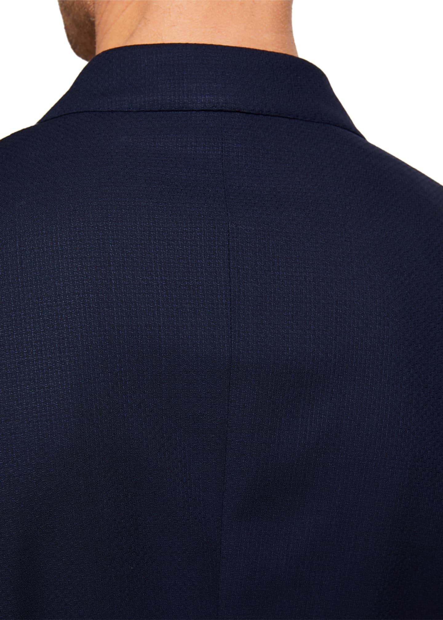 Image 3 of 3: Men's Packaway Wool Two-Button Jacket