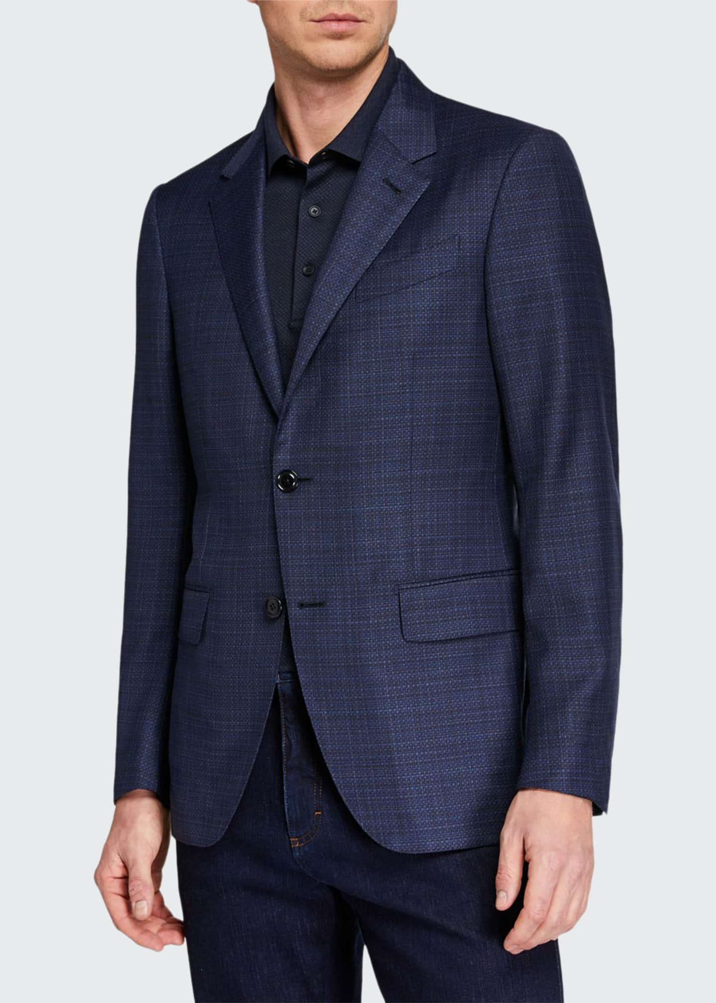 Ermenegildo Zegna Men's ACHILLFARM High-Textured Blazer