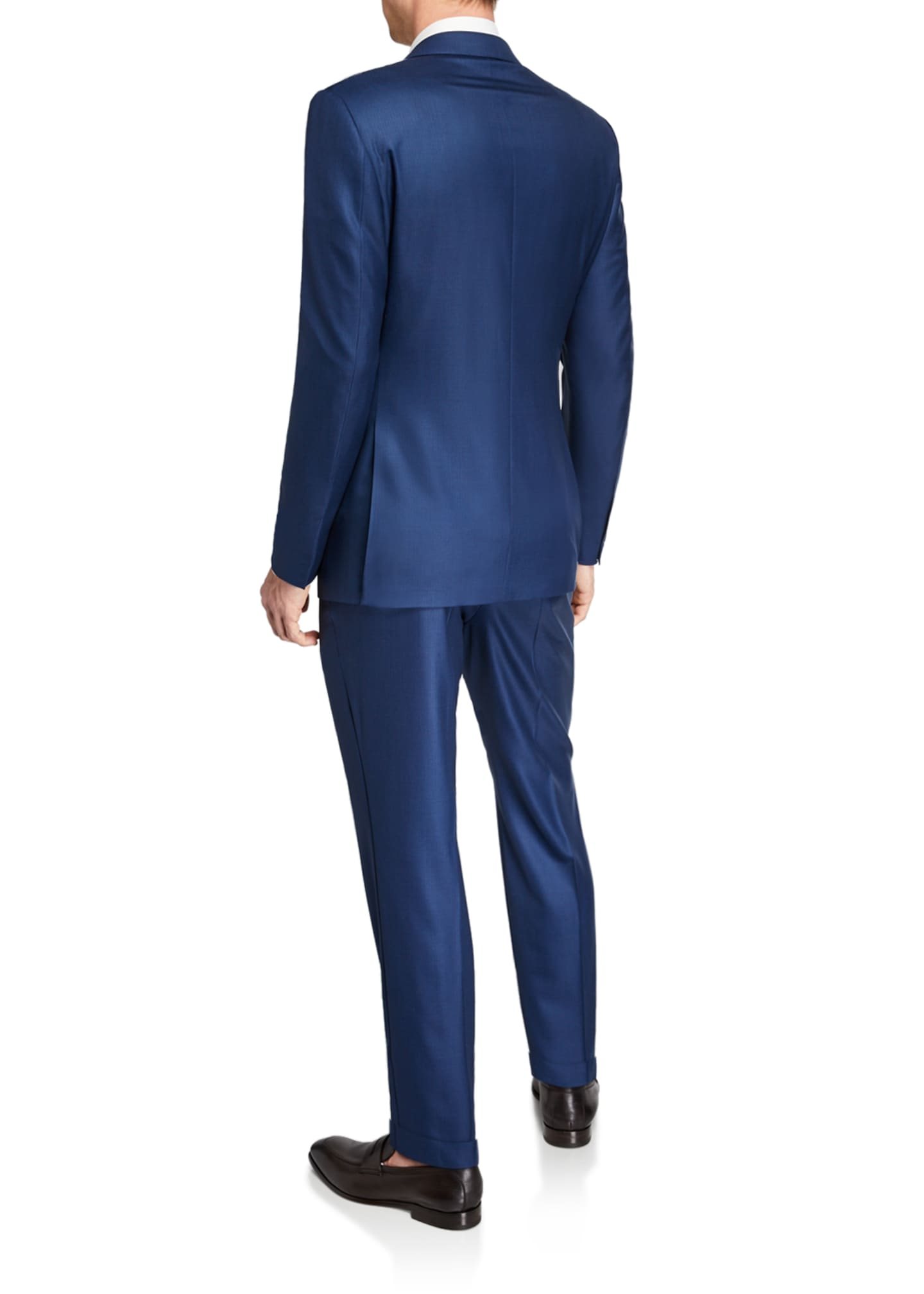Image 3 of 4: Men's 15milmil15 Two-Piece Tonal Striped Regular-Fit Suit