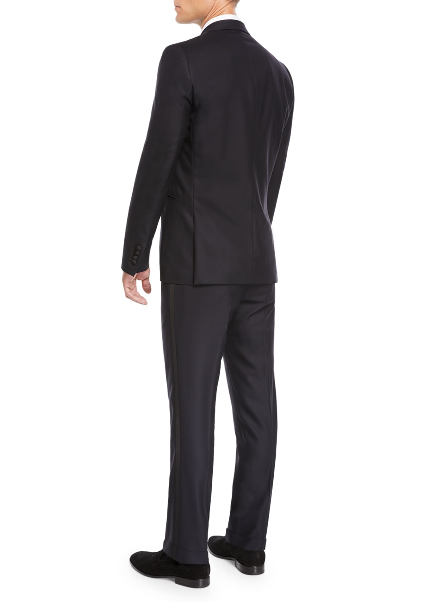 Image 3 of 4: Men's Oliver Single-Breasted Two-Piece Tuxedo