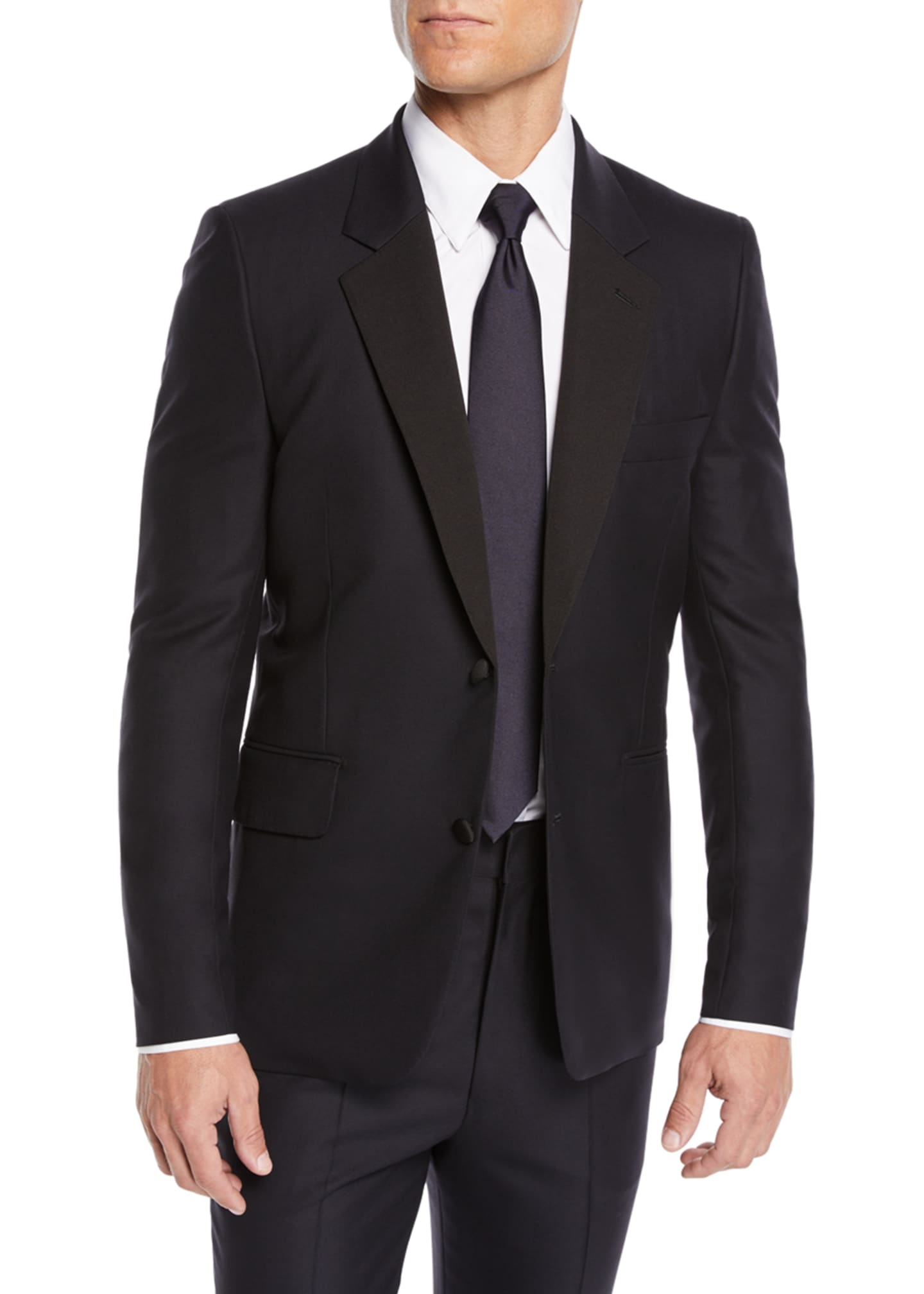 Image 1 of 4: Men's Oliver Single-Breasted Two-Piece Tuxedo