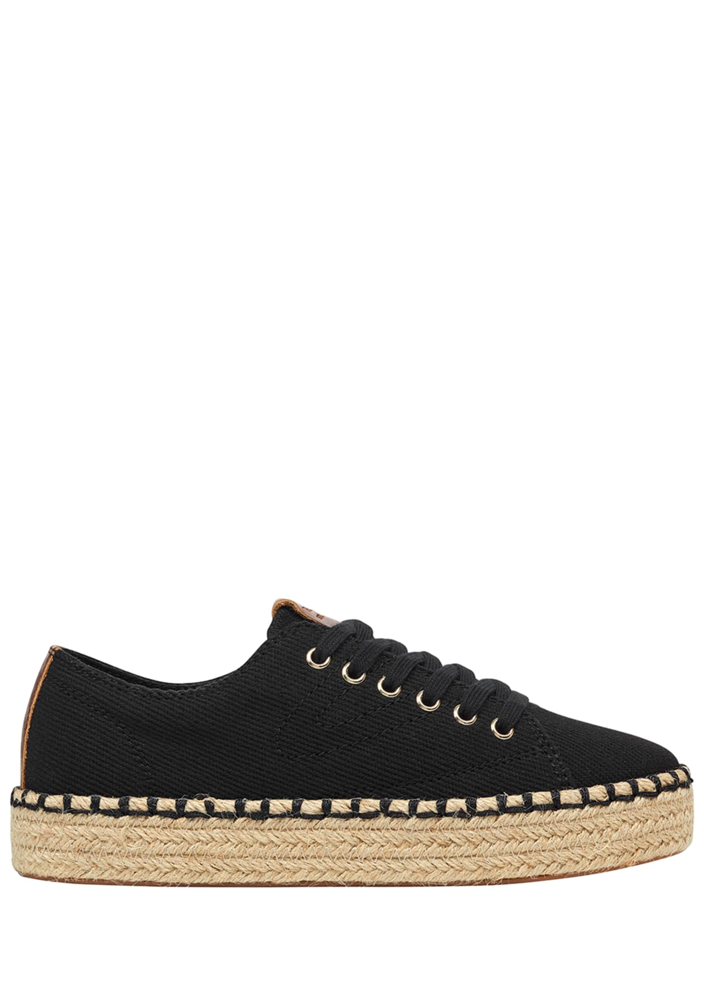Image 2 of 5: Eve Canvas Espadrille Platform Sneakers