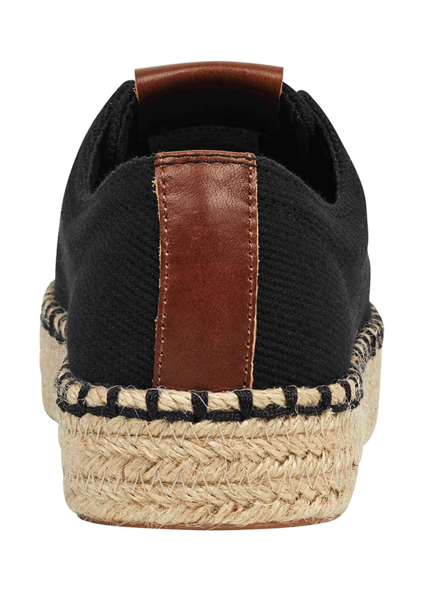 Image 3 of 5: Eve Canvas Espadrille Platform Sneakers