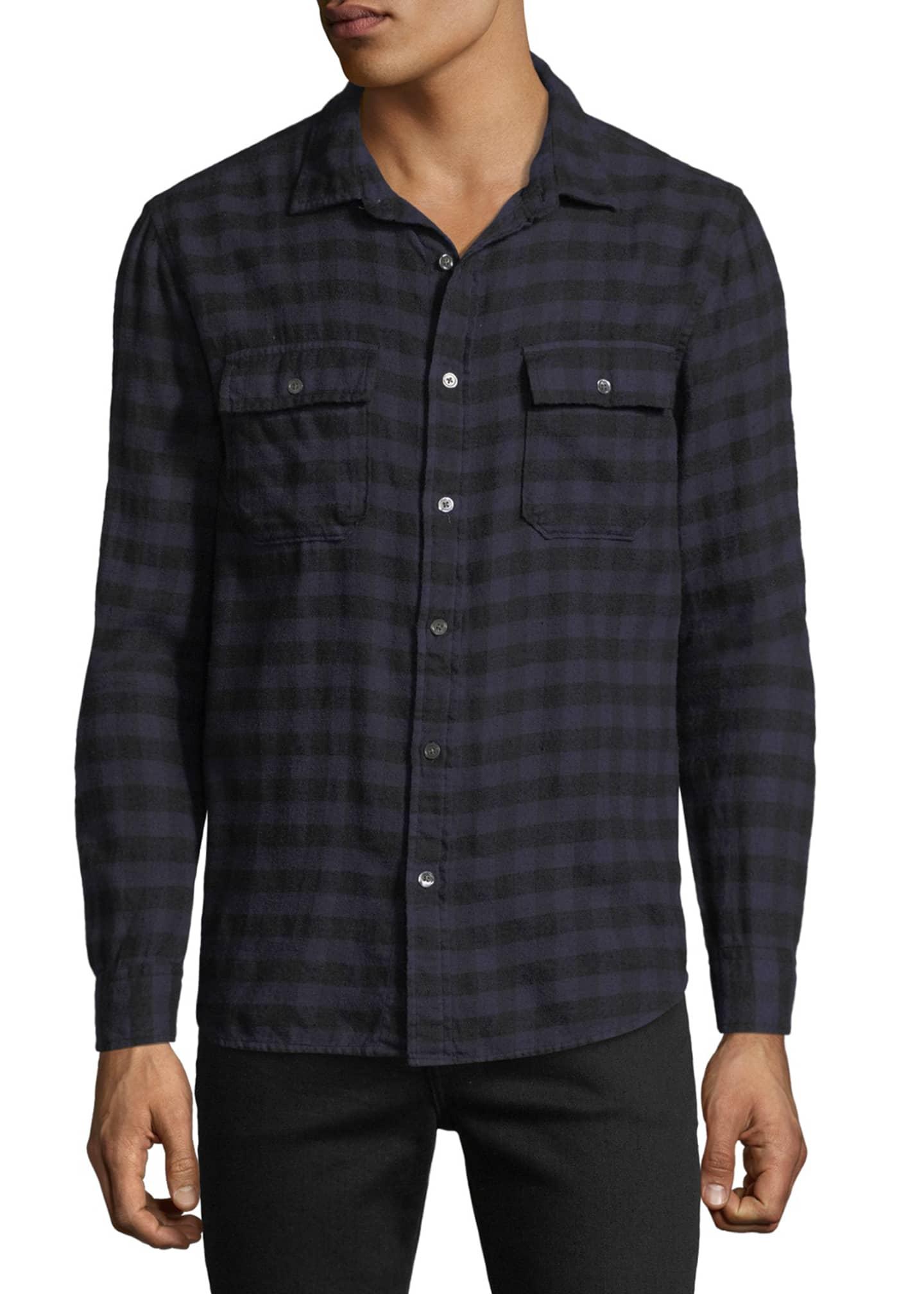 FRAME Men's Cotton Sport Shirt
