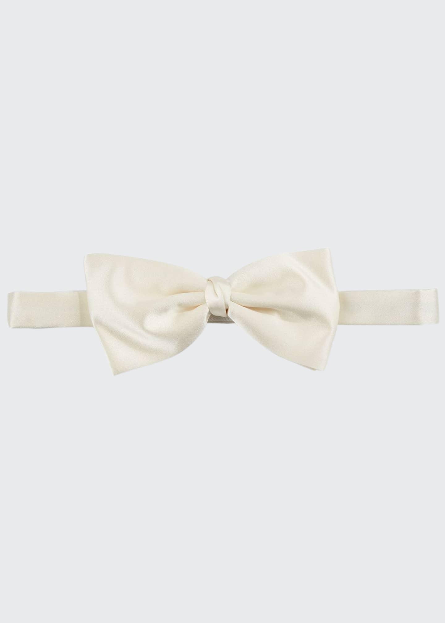 Ermenegildo Zegna Men's Satin Self-Tie Bow Tie