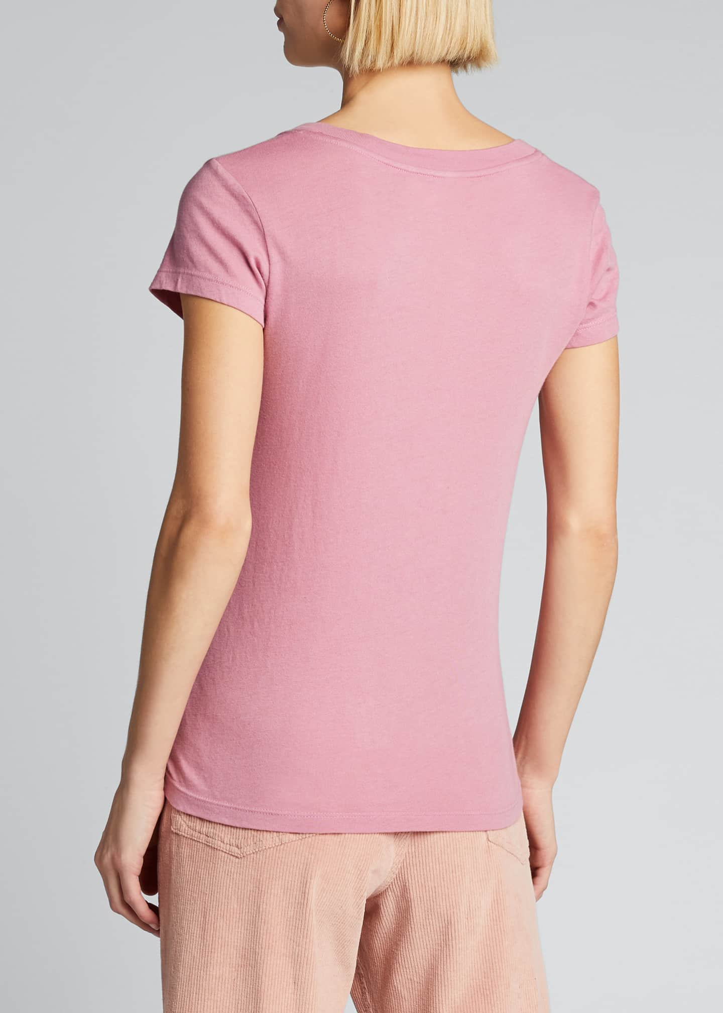 Image 2 of 5: Becca V-Neck Short-Sleeve Tee