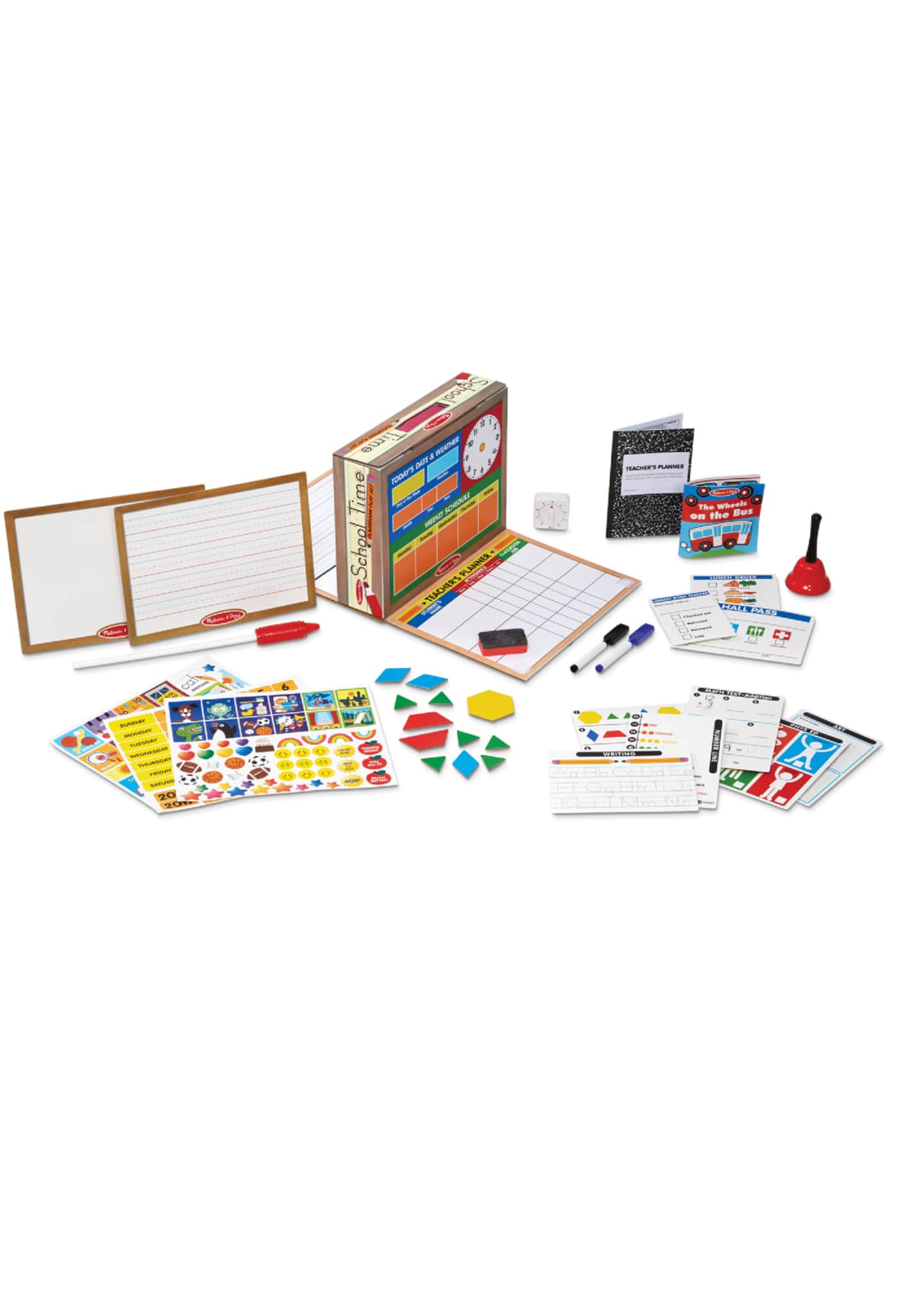 Image 1 of 2: School Time Classroom Play Set