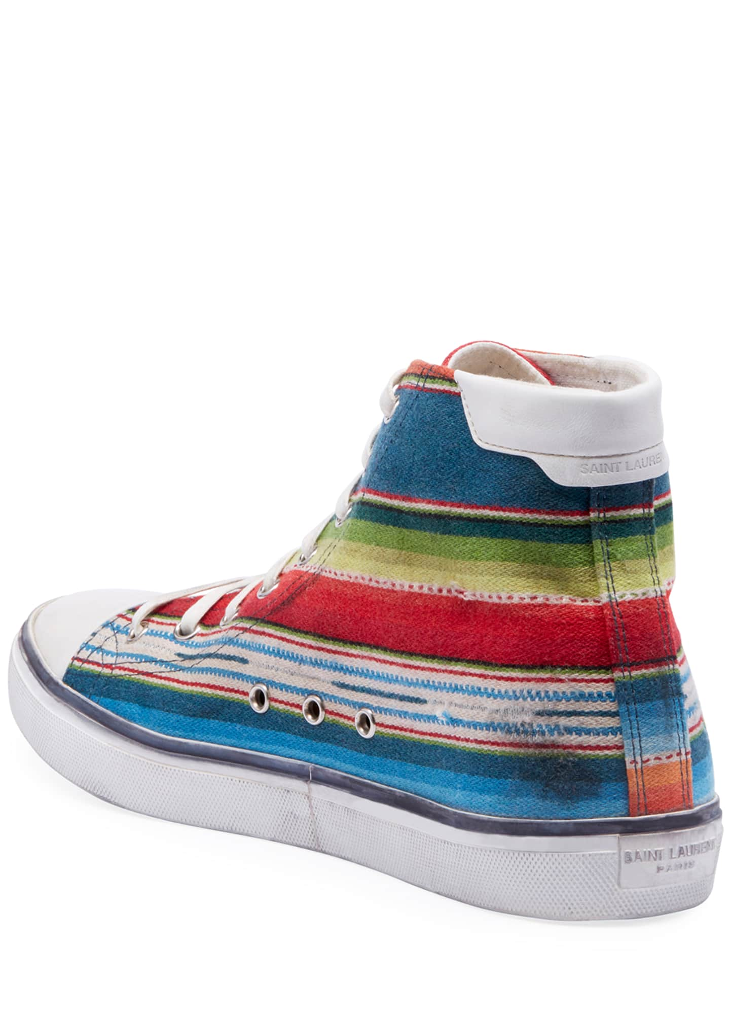 Image 3 of 3: Men's Bedford Southwest Striped High-Top Sneakers