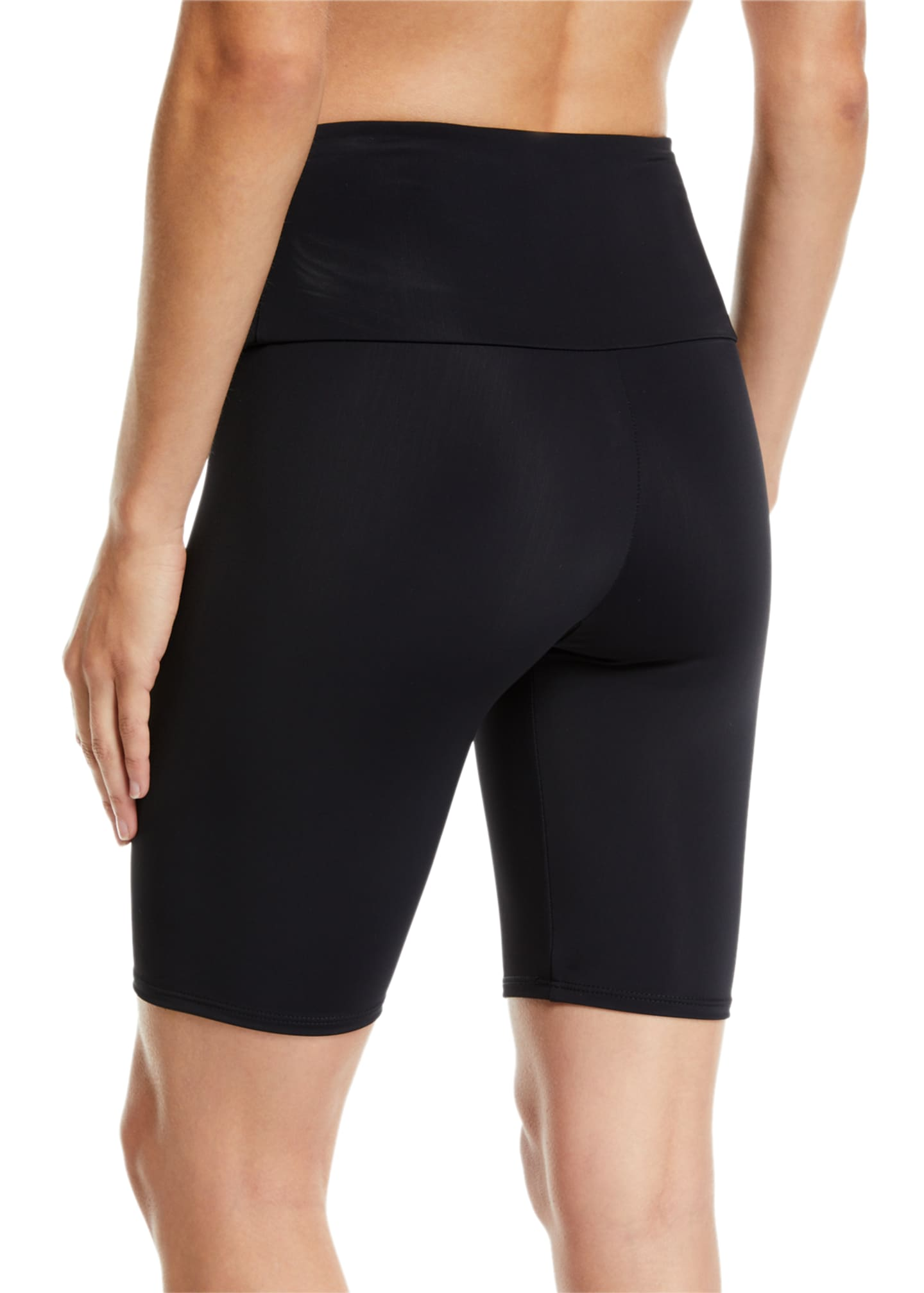 Image 2 of 3: High-Rise Activewear Bike Shorts