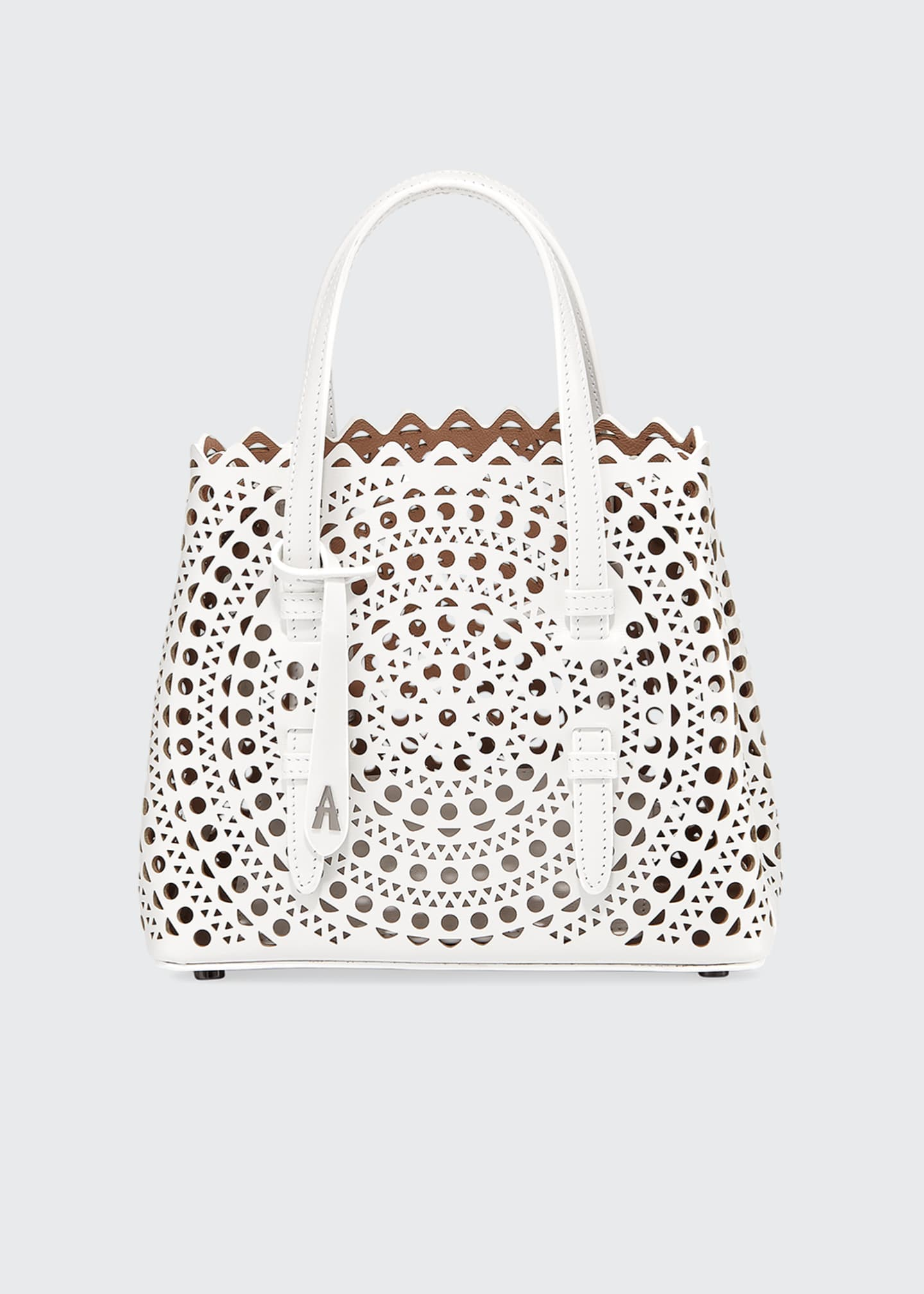 Image 1 of 5: Mina Mini Vienne Laser-Cut Tote Bag