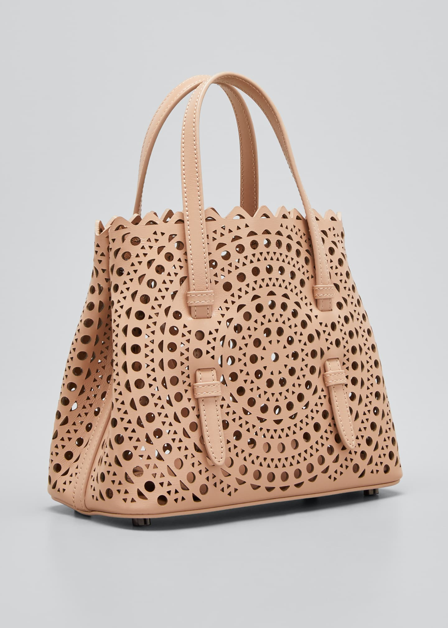 Image 3 of 5: Mina Mini Vienne Laser-Cut Tote Bag