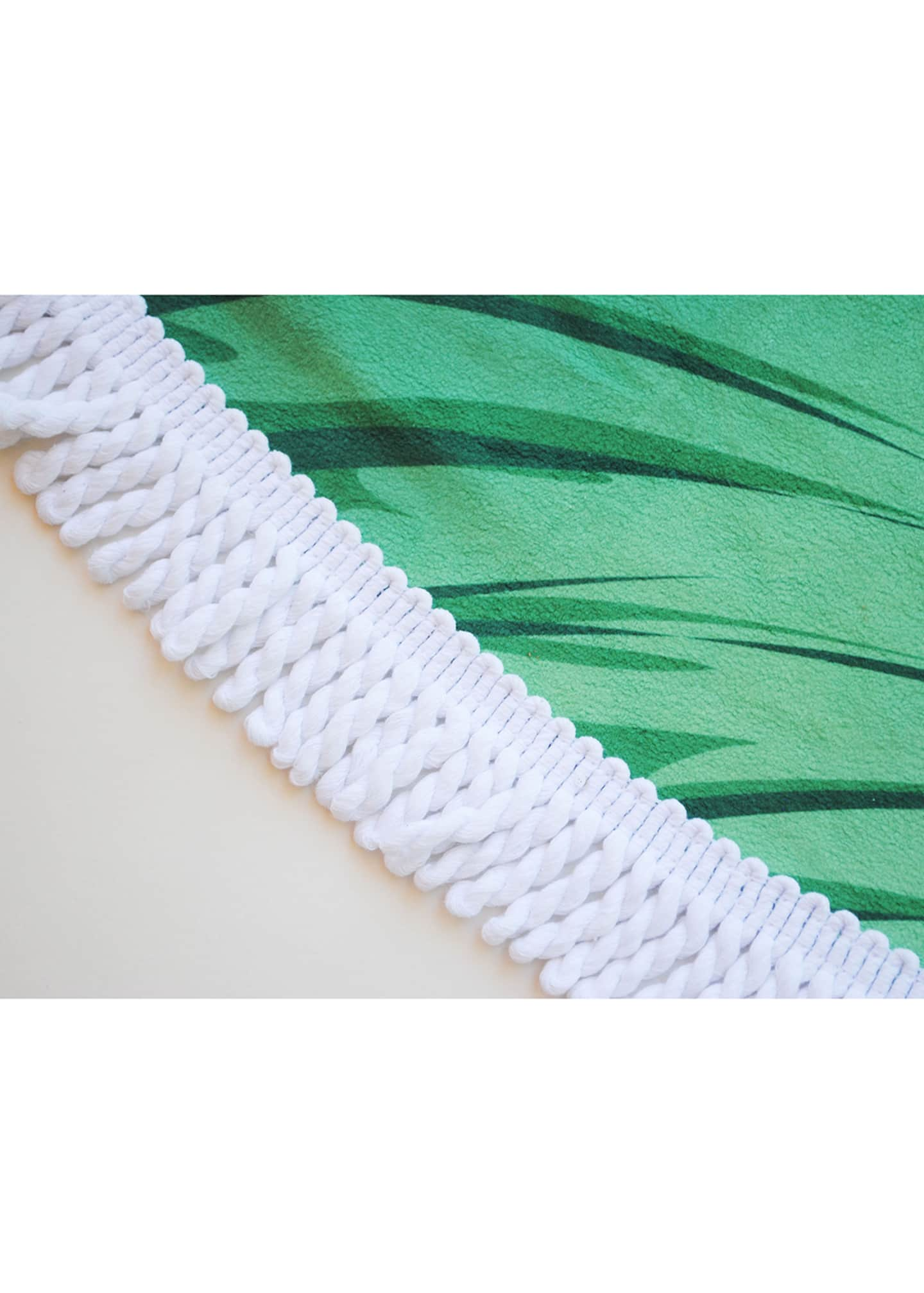 Image 2 of 2: Banana Leaf Round Beach Towel