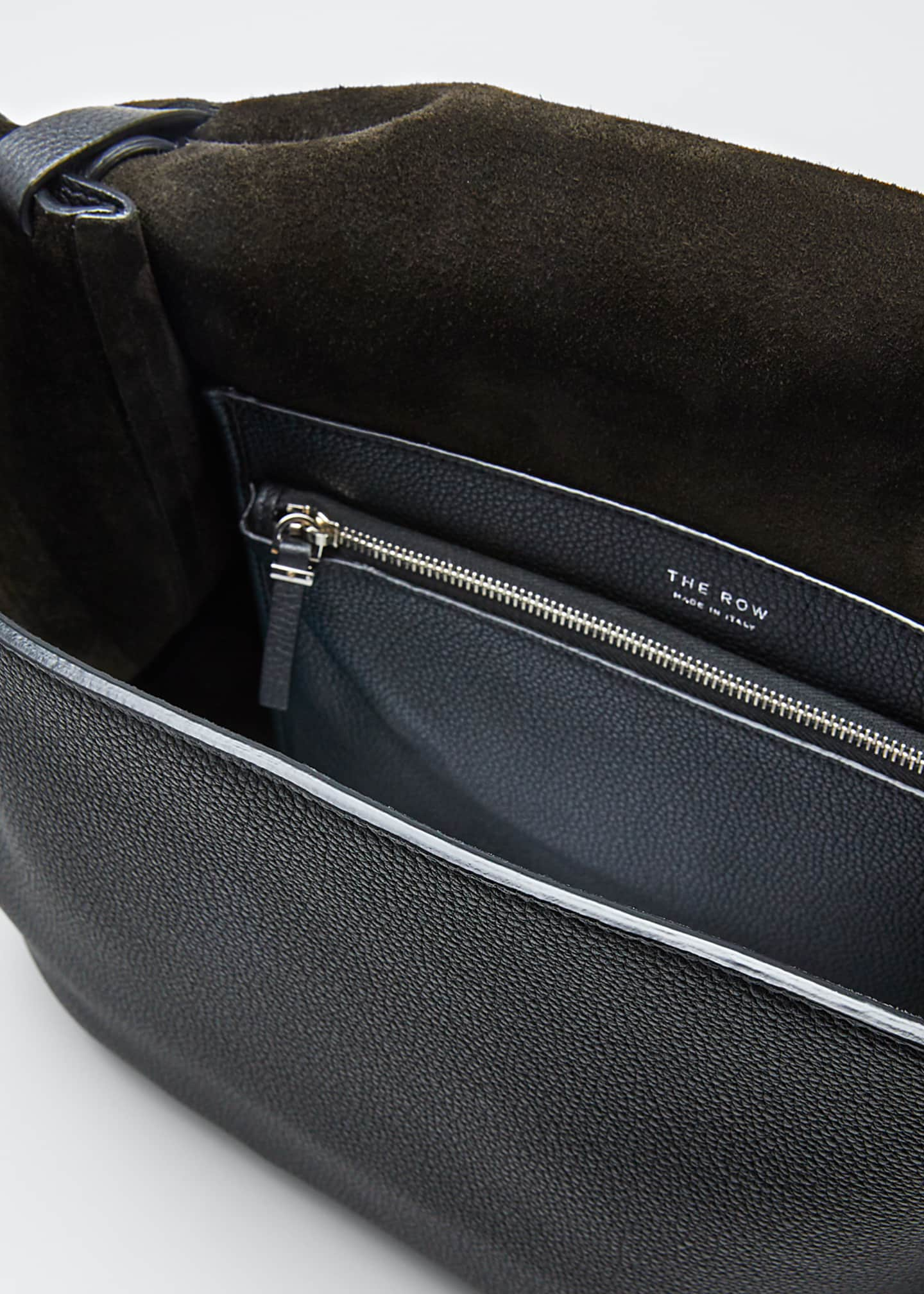 Image 4 of 5: 14 Two Fine Grained Top Handle Bag