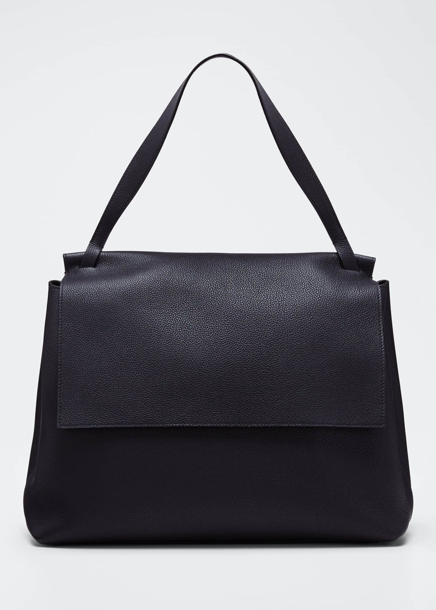 Image 1 of 5: 14 Two Fine Grained Top Handle Bag