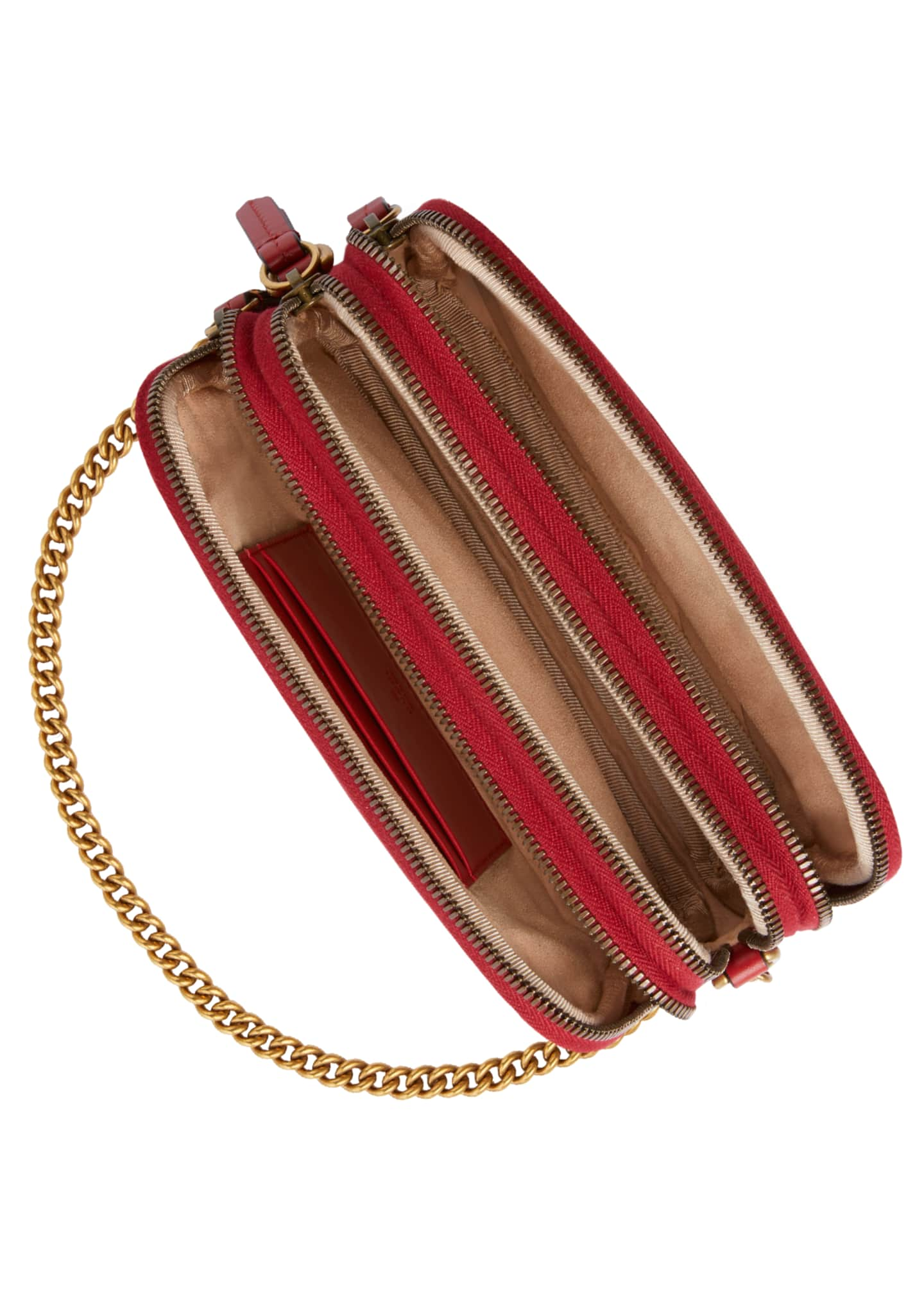 Image 4 of 4: GG Marmont Mini Zip-Top Camera Case Bag