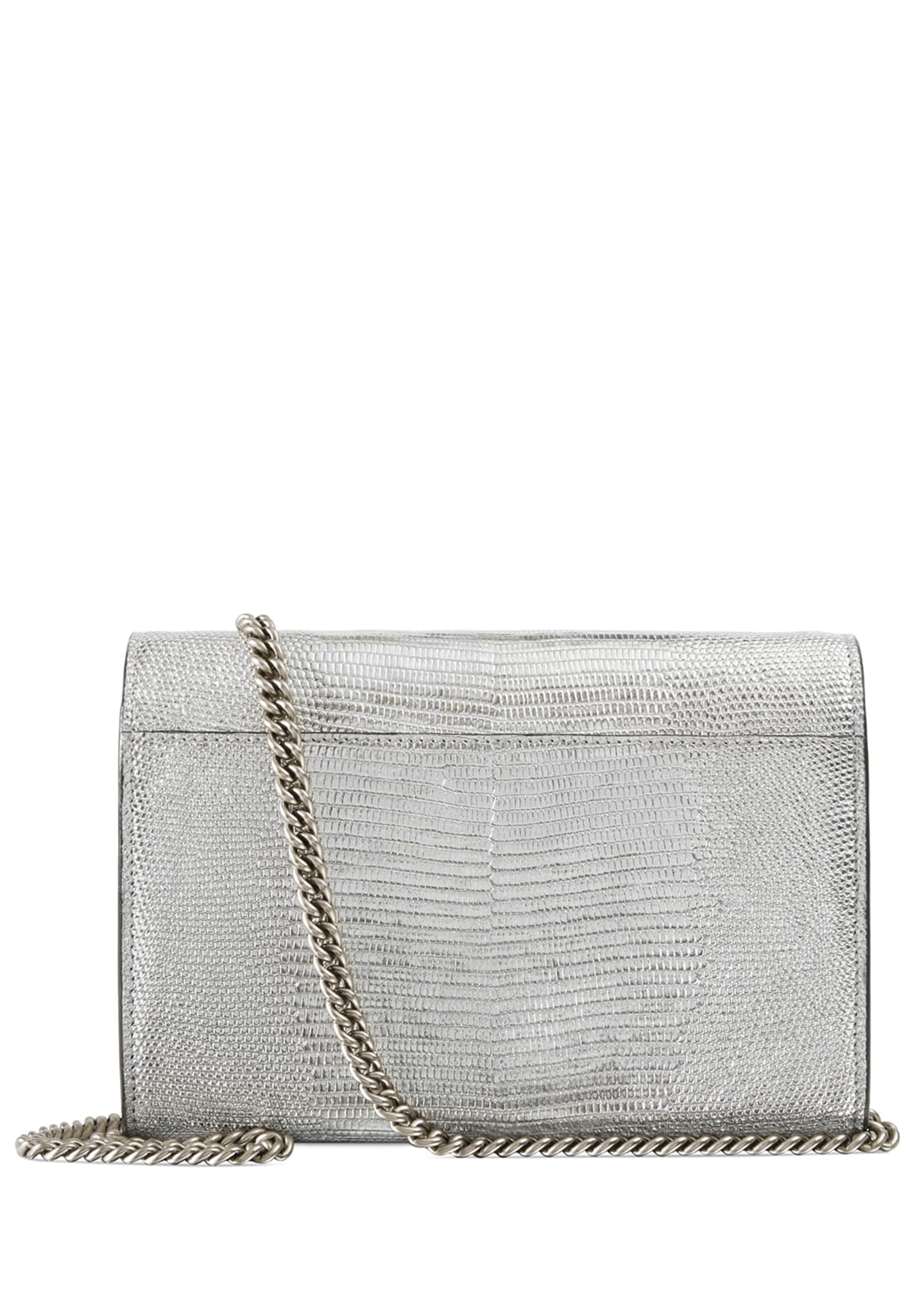 Image 3 of 4: Dionysus Metallic Chain Crossbody Bag