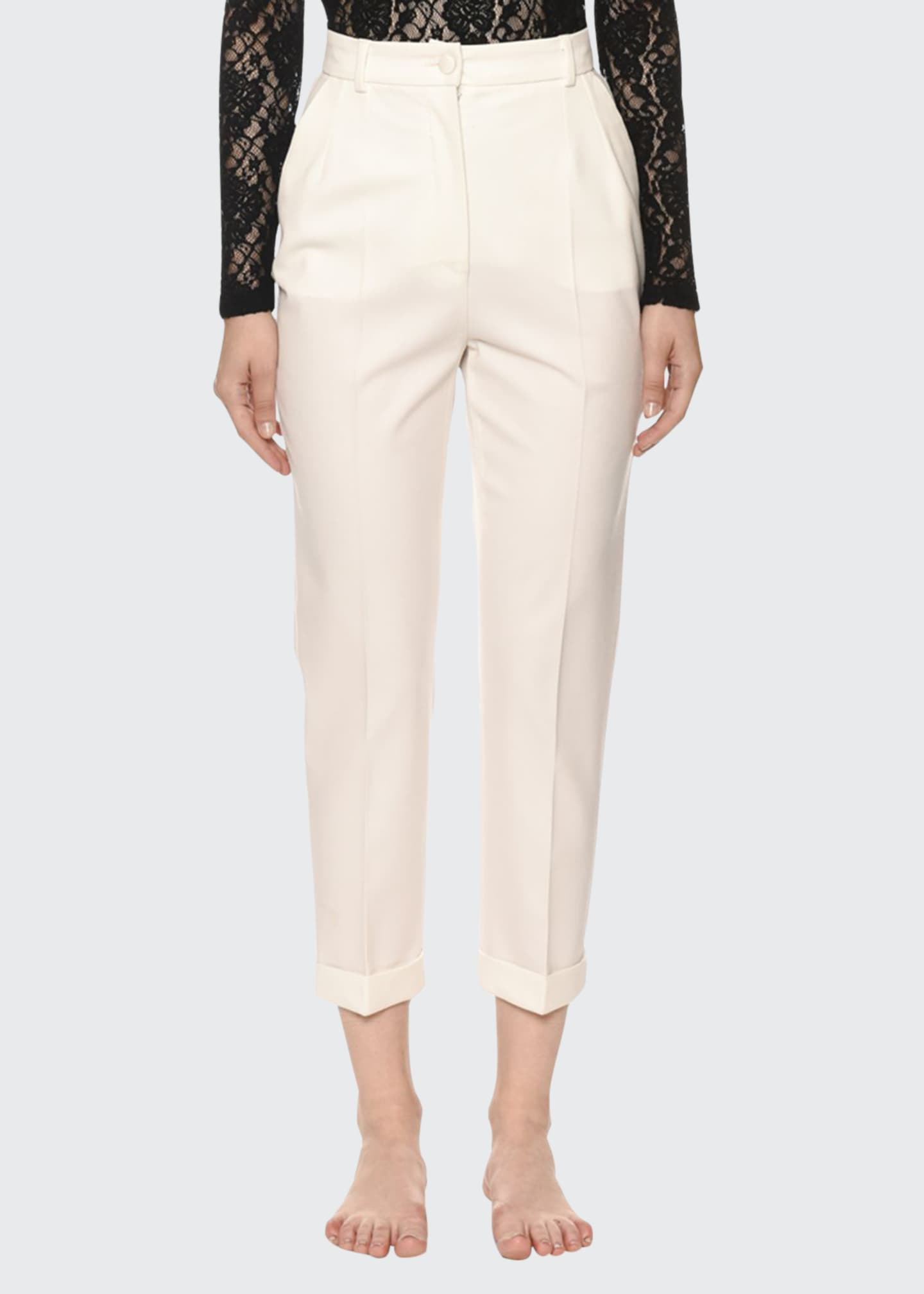 Dolce & Gabbana Kate Classic High-Rise Pants
