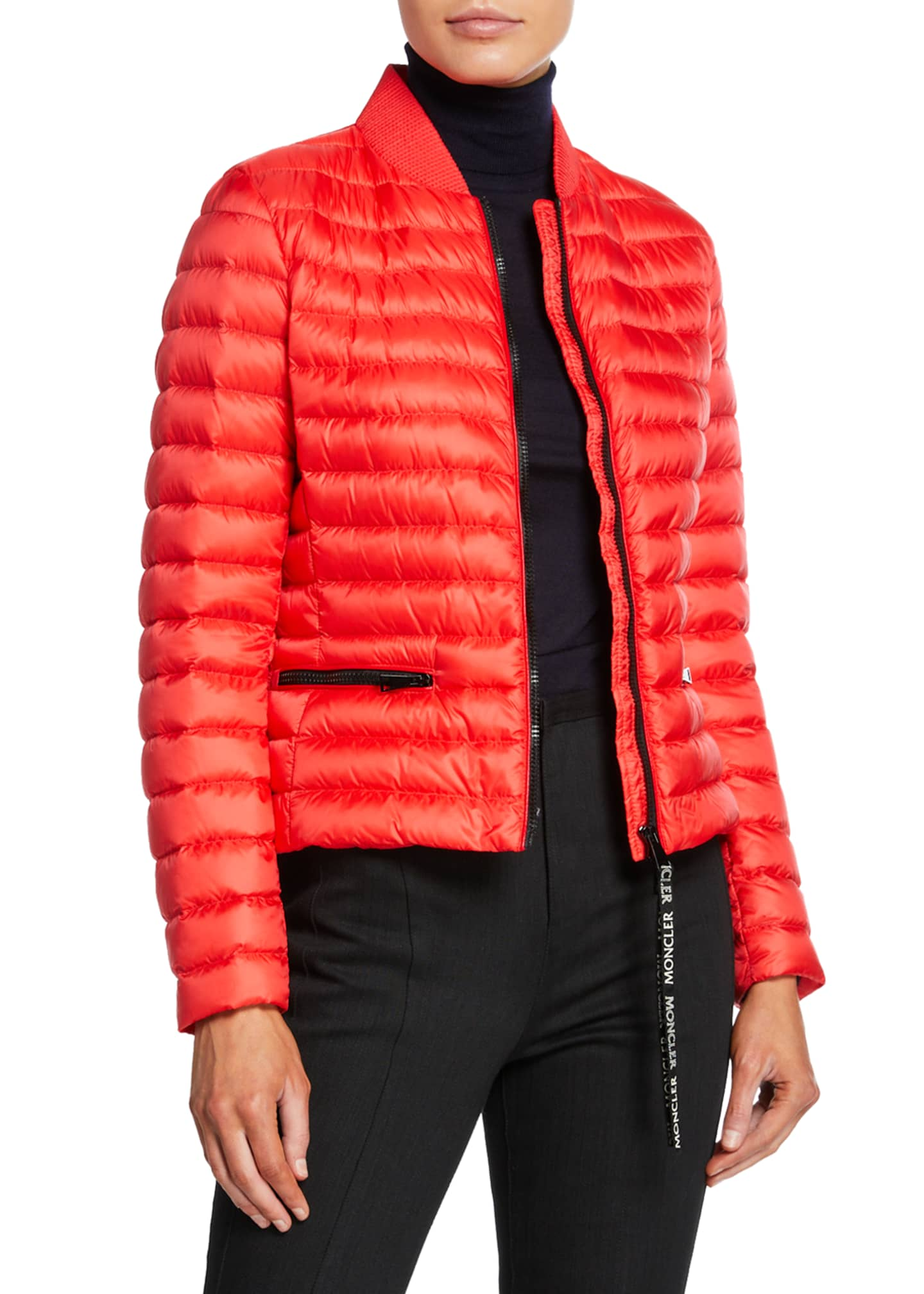Moncler Blenca Down-Fill Bomber Jacket