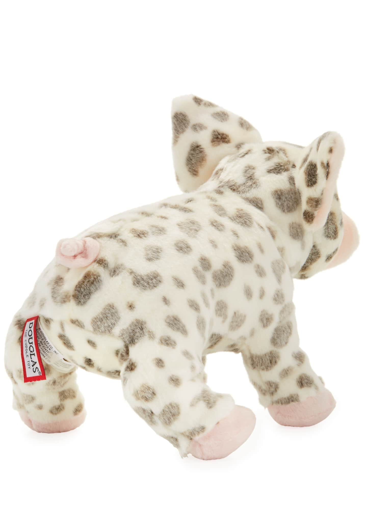 Image 2 of 2: Pauline Spotted Pig Plush Toy, 12""