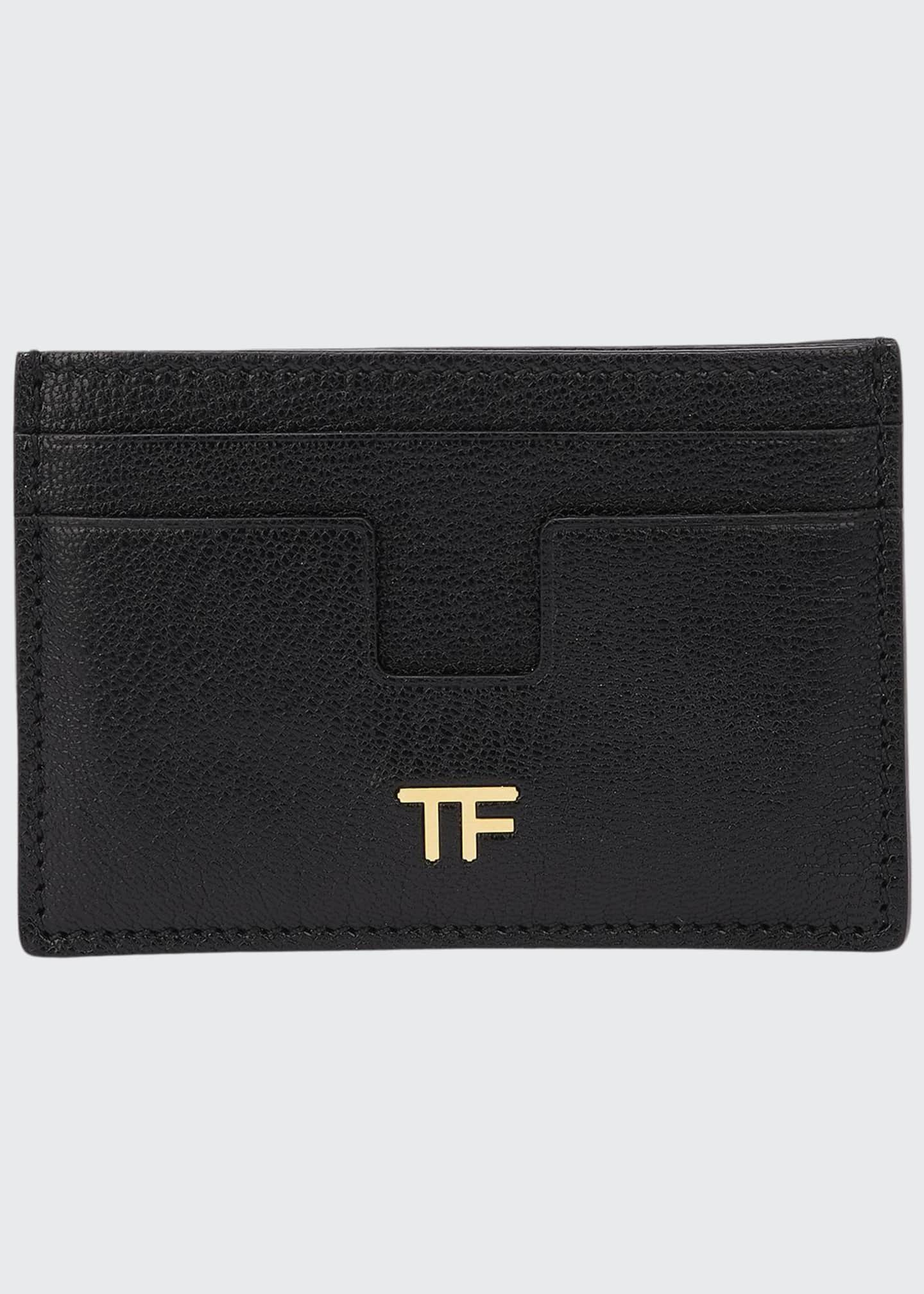 TOM FORD Grained Leather Card Holder