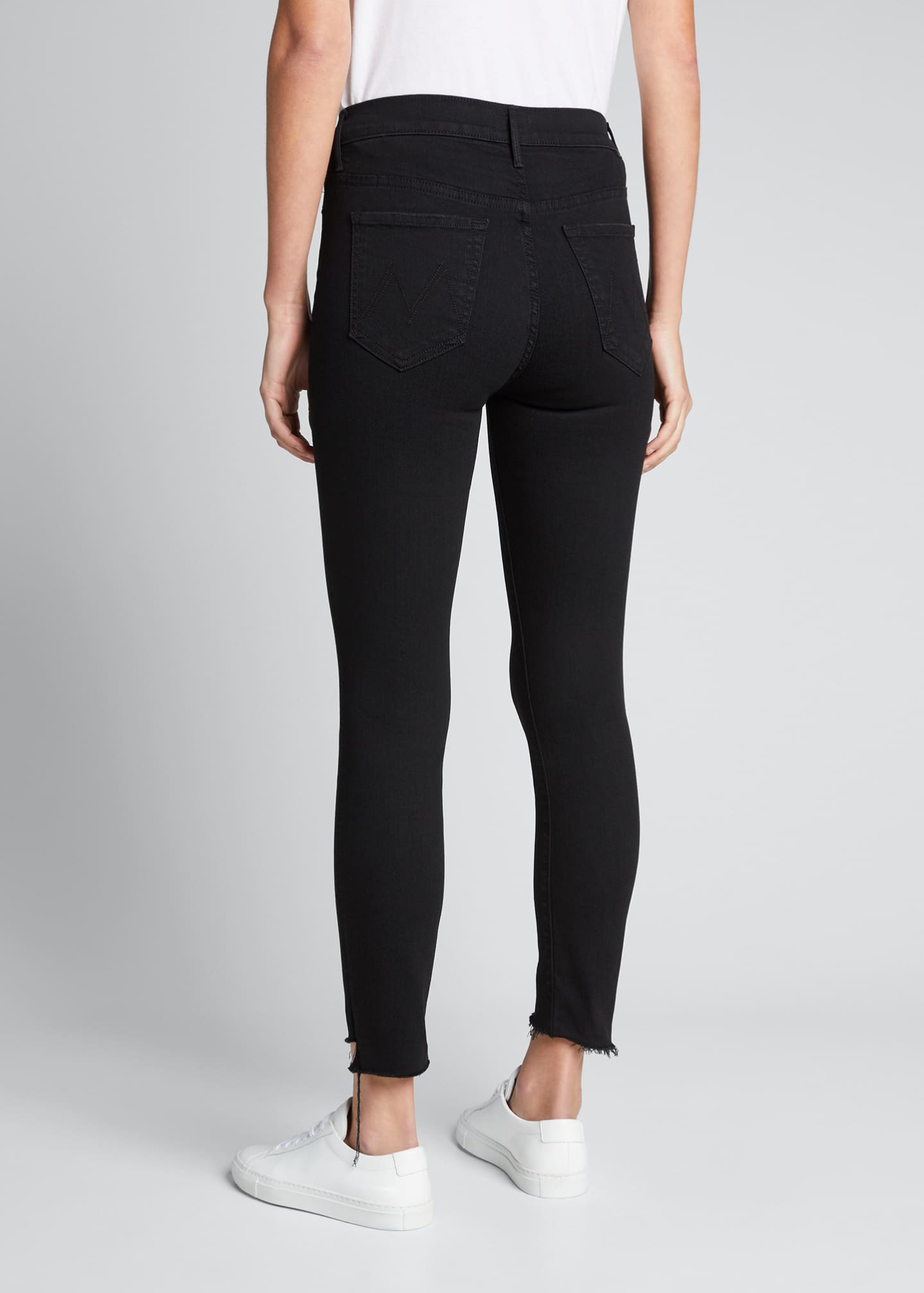 Image 2 of 3: Stunner Zip Ankle Step Fray Skinny Jeans