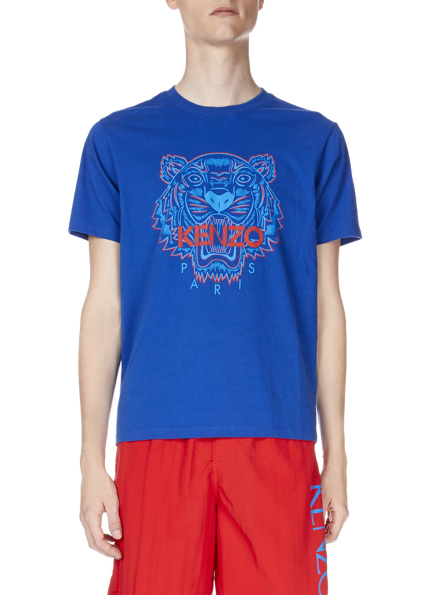 Kenzo Men's Bicolor Tiger T-Shirt