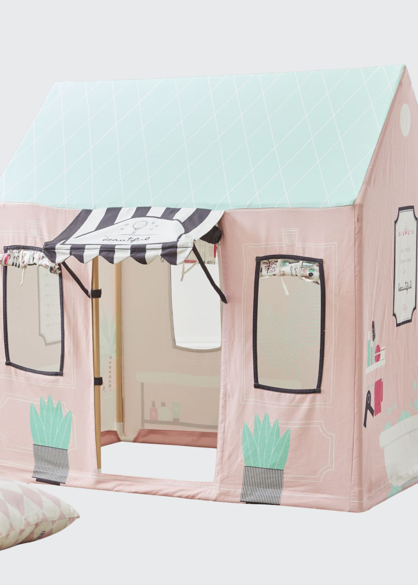 ASWEETS Kids' Beauty Salon Play Tent